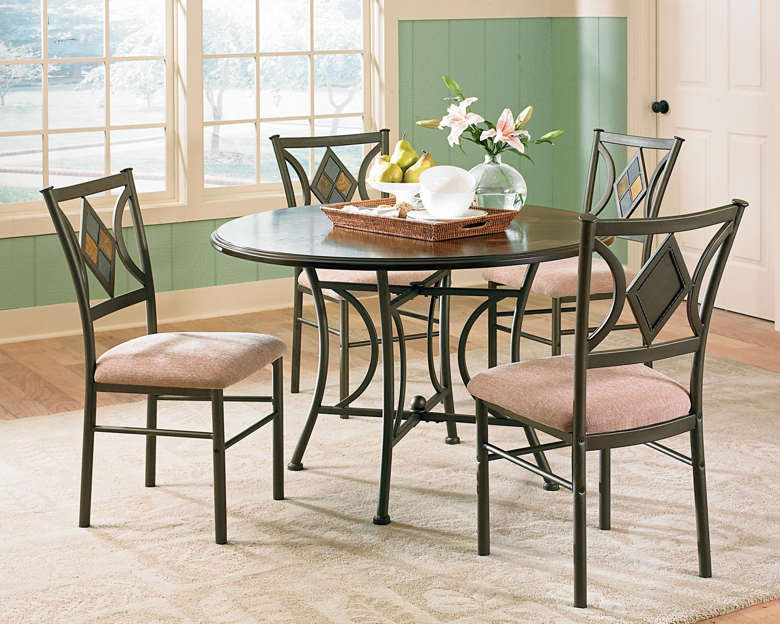 Talston Talston 5-Piece Dining Table Set by Steve Silver at Morris Home