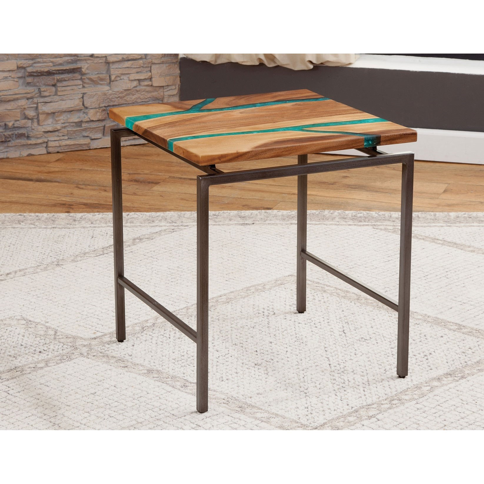 Tamra End Table by Steve Silver at Walker's Furniture