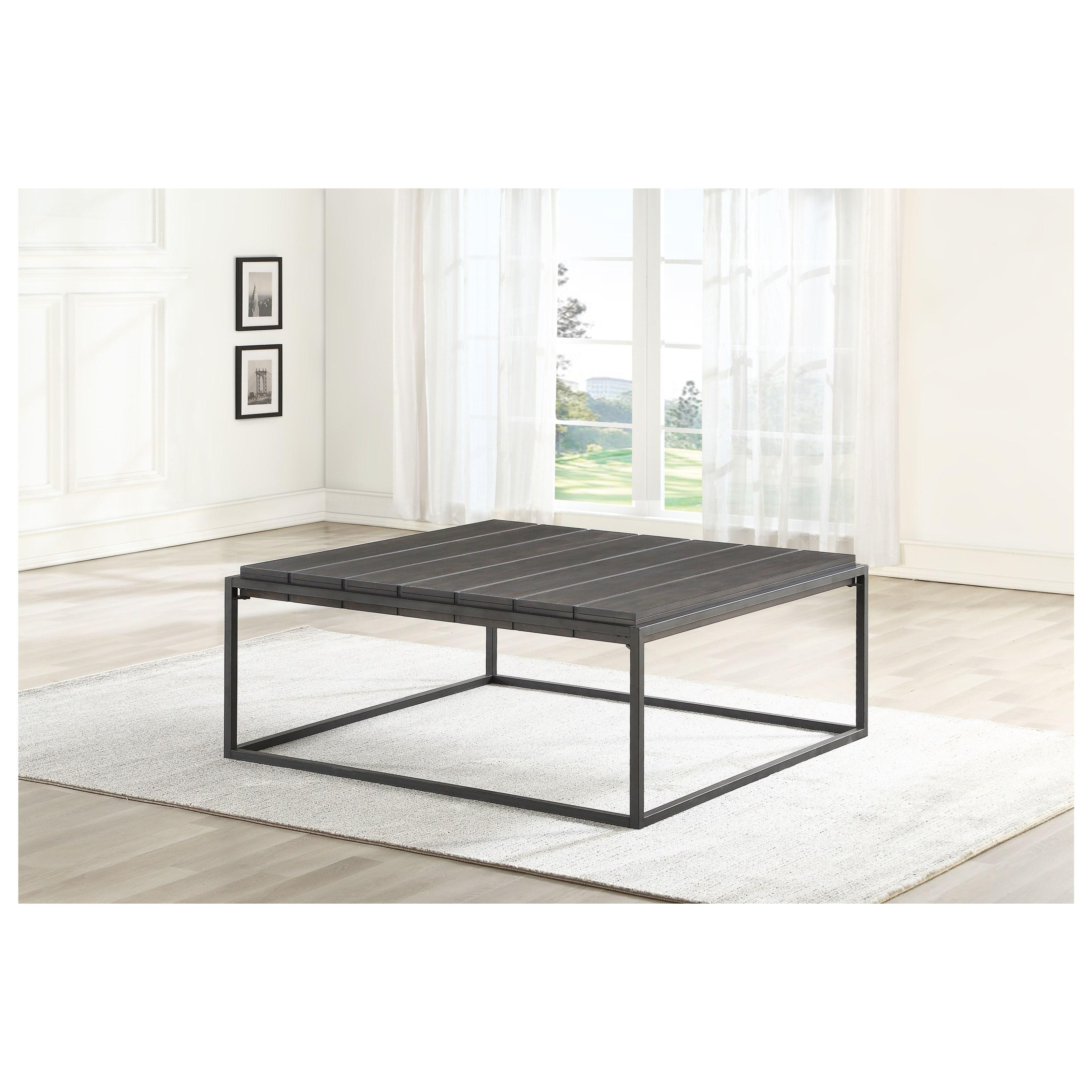 Tekoa Coffee Table  by Steve Silver at Walker's Furniture