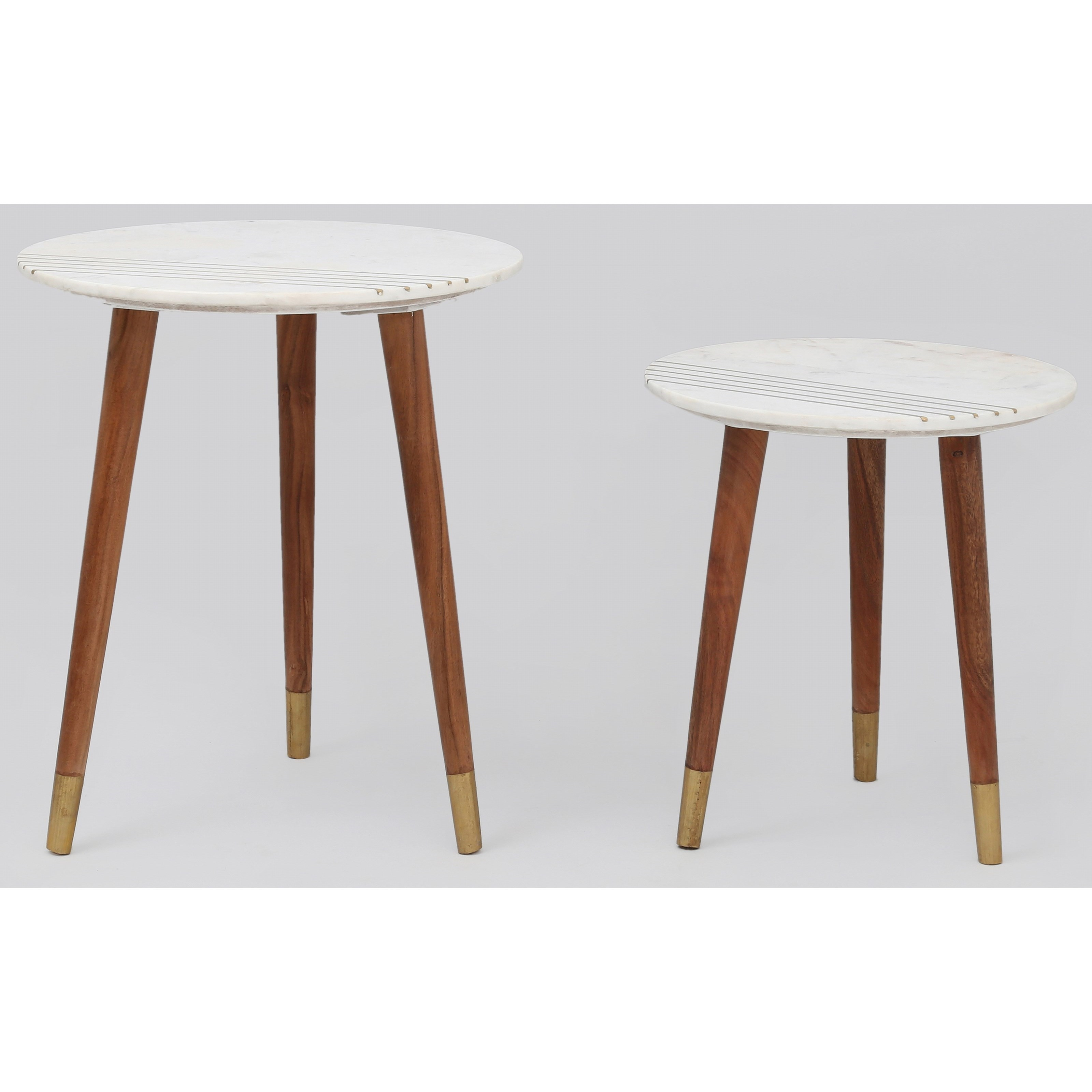 Terrace 2-Piece Nesting Table Group by Steve Silver at Northeast Factory Direct