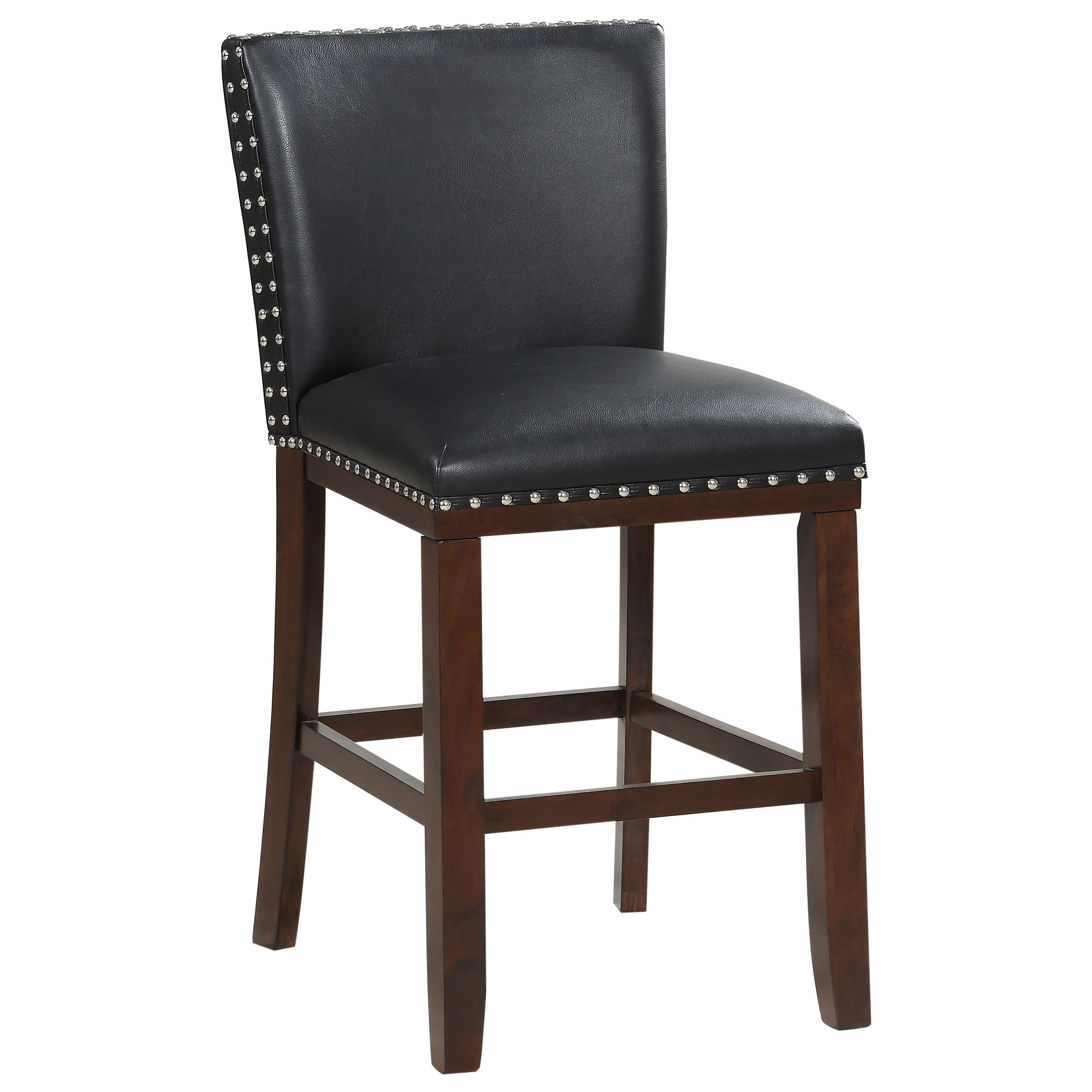 Tiffany Bonded Counter Chair by Steve Silver at Northeast Factory Direct