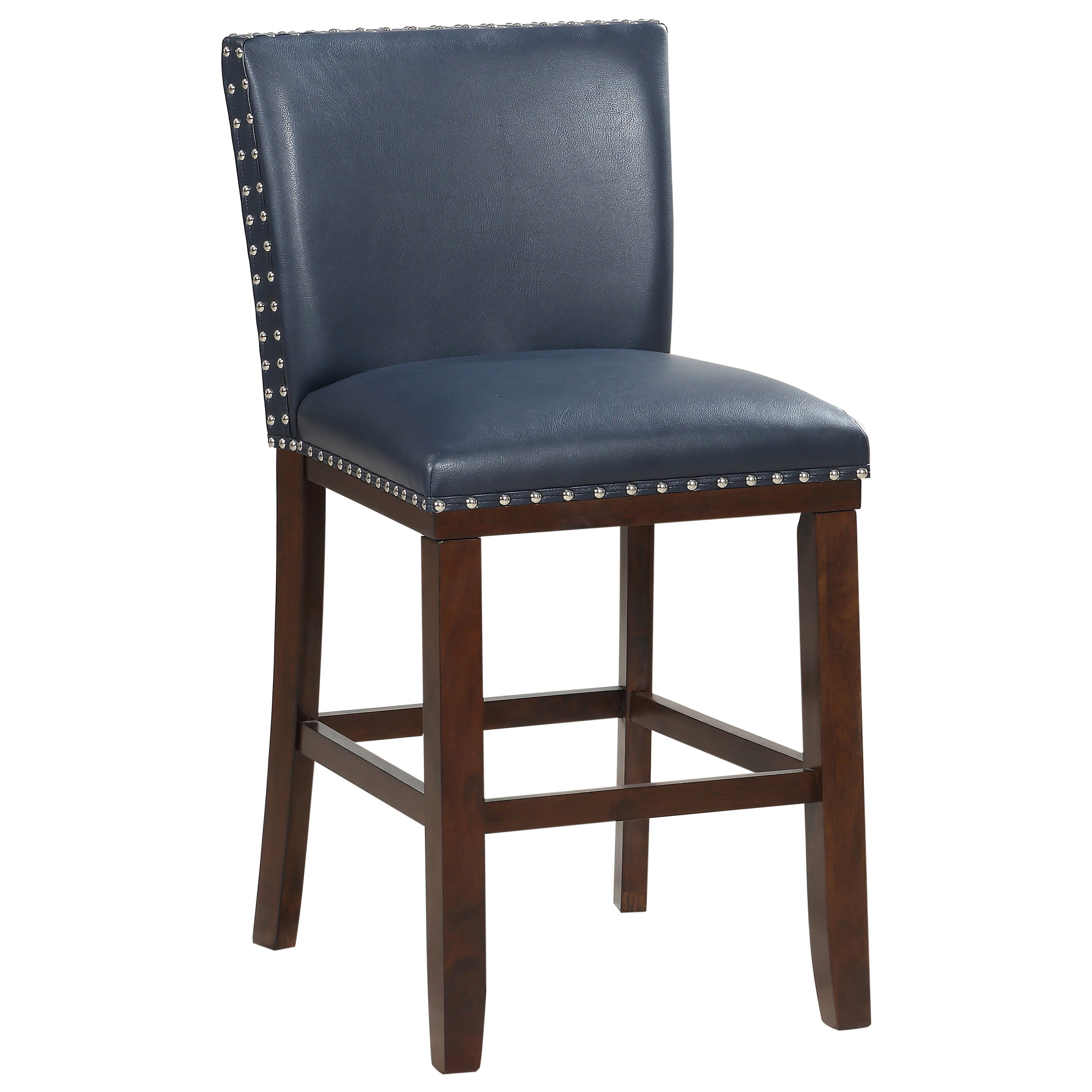 Tiffany Bonded Counter Chair by Steve Silver at Walker's Furniture