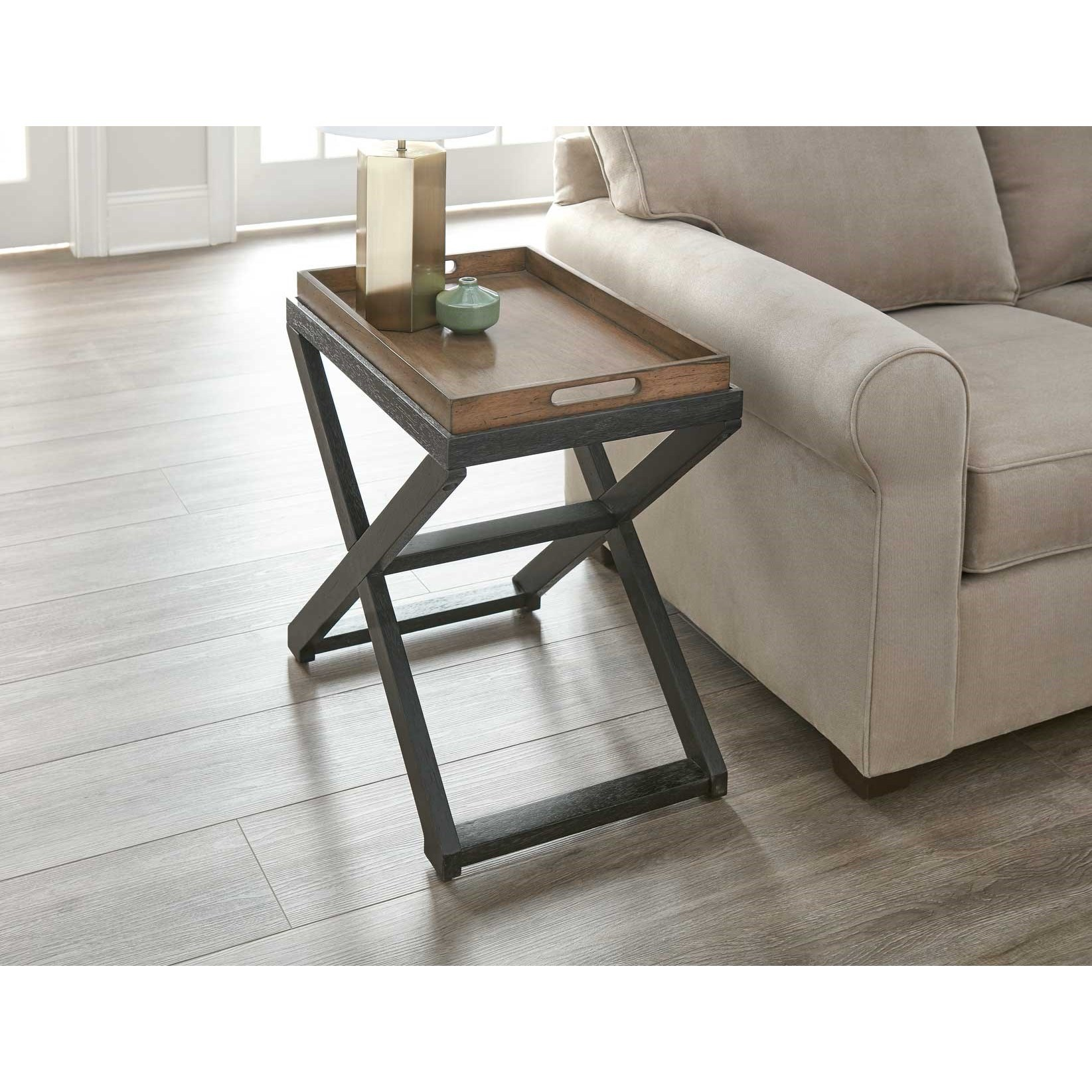 Topeka Chairside Table by Steve Silver at Walker's Furniture