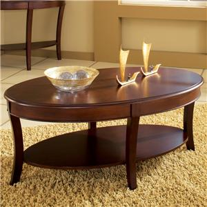 Cocktail Table with Open Lower Shelf