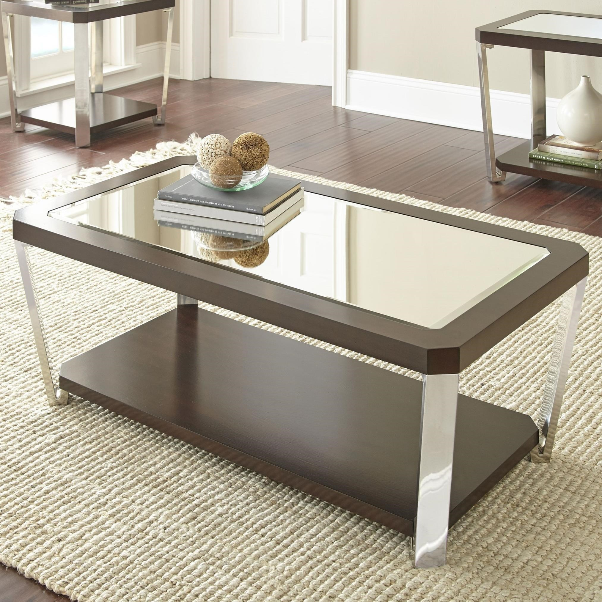 Truman Cocktail Table by Steve Silver at Walker's Furniture