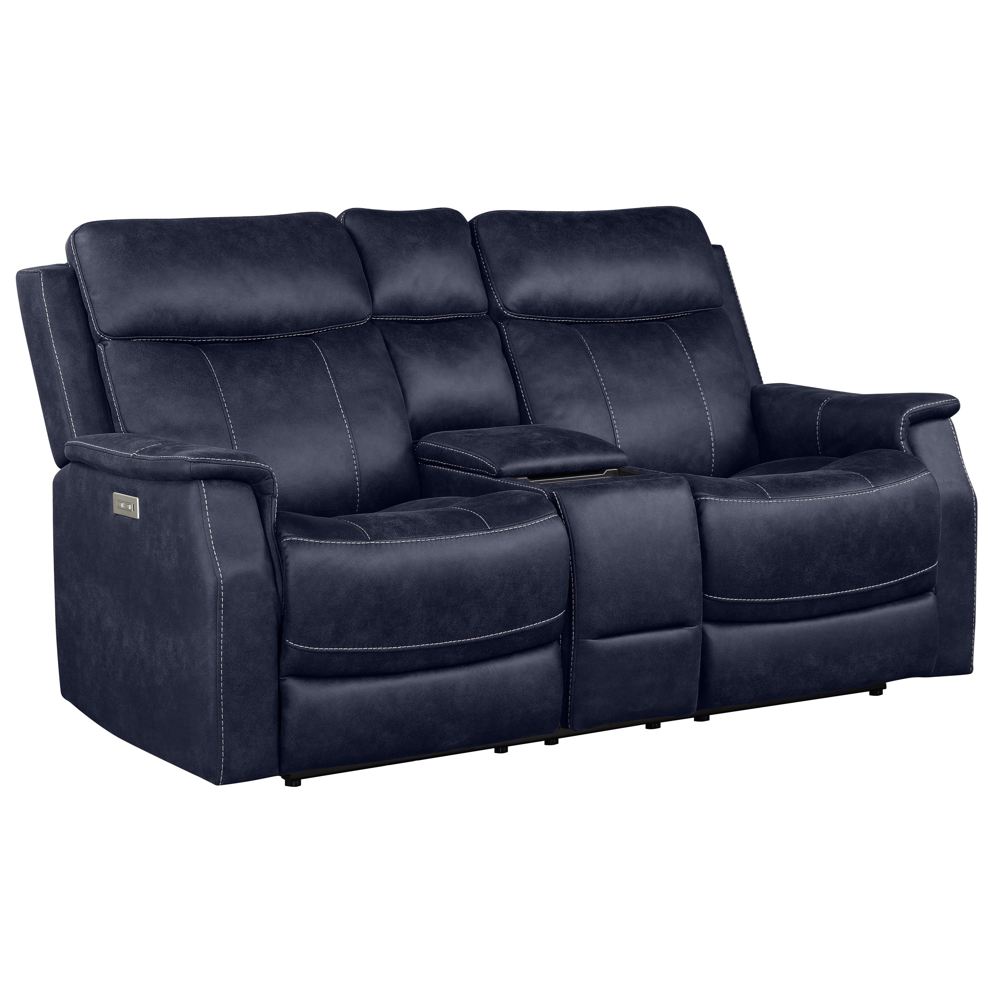 Valencia Power Reclining Loveseat by Star at EFO Furniture Outlet
