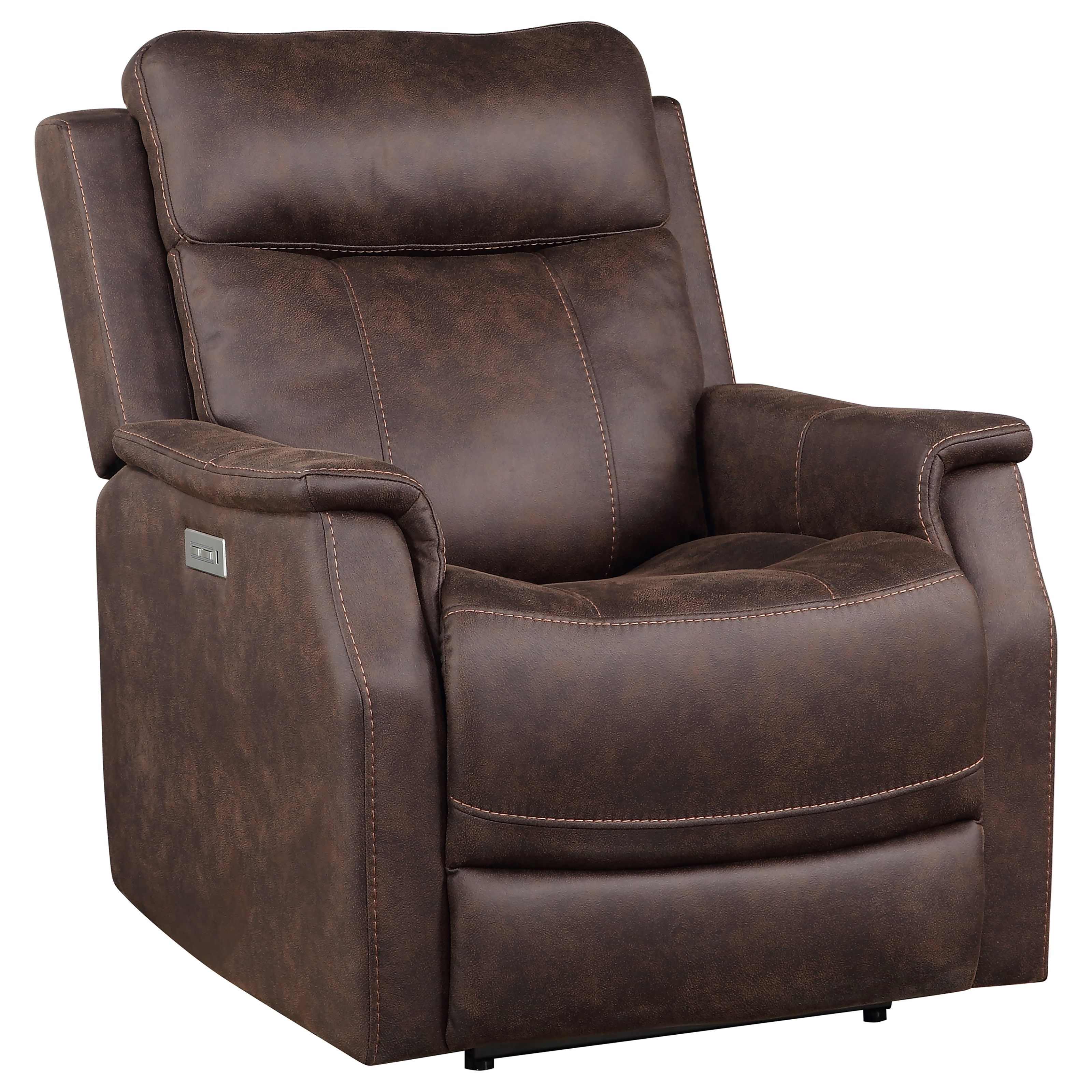 Valencia Power Recliner by Steve Silver at Northeast Factory Direct