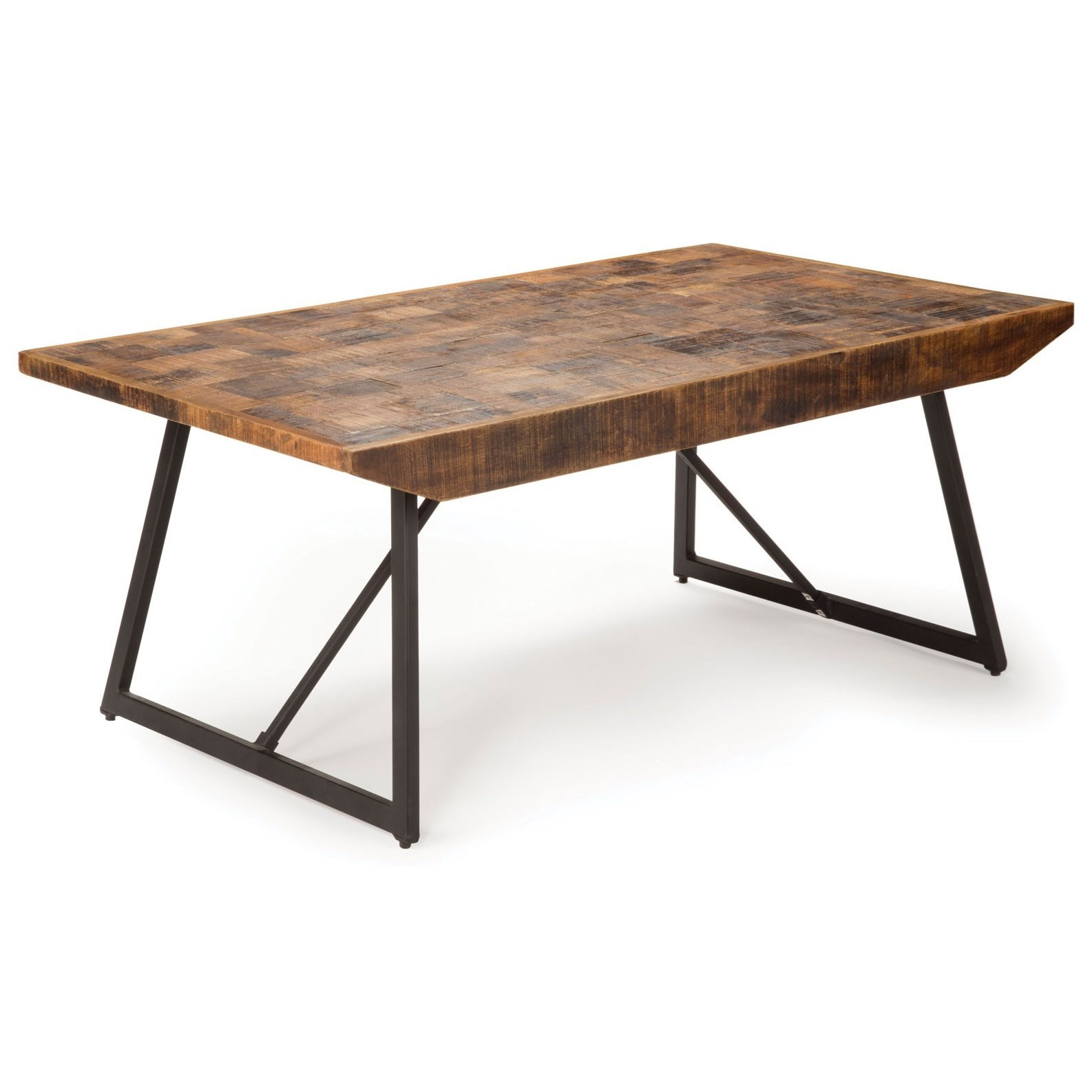 Walden Parquet Cocktail Table by Steve Silver at Northeast Factory Direct