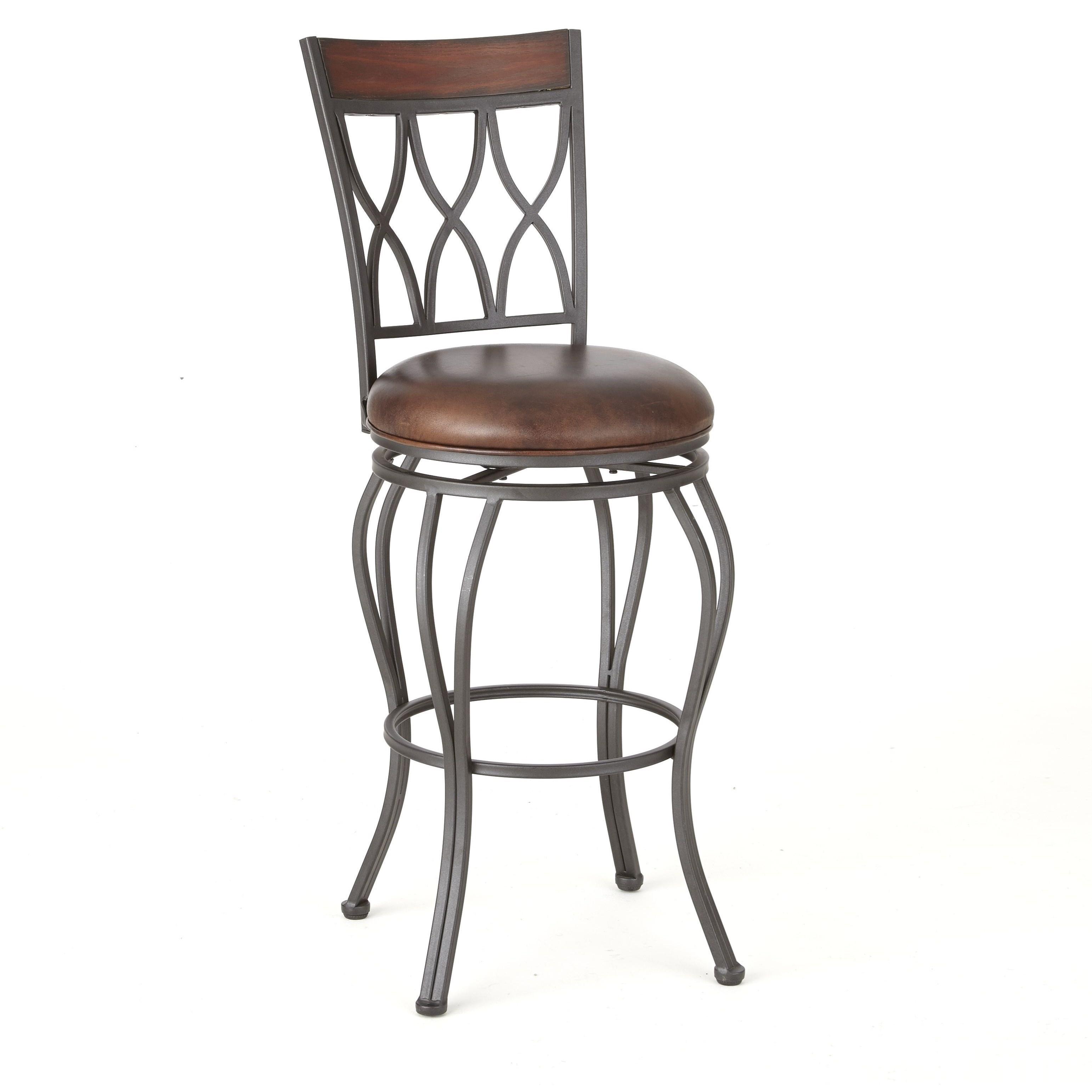 Wallen Swivel Barstool by Steve Silver at Walker's Furniture