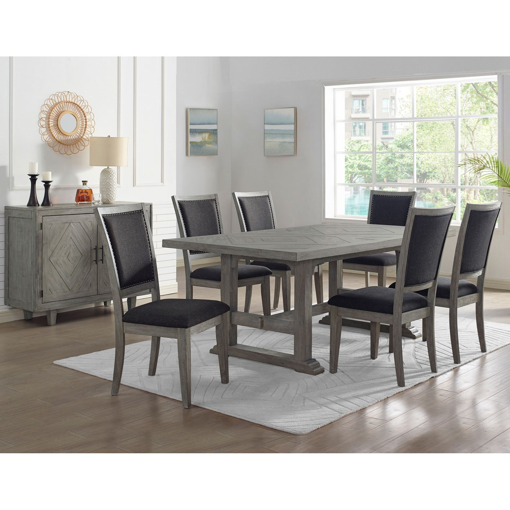 Whitford Dining Room Group by Steve Silver at Northeast Factory Direct