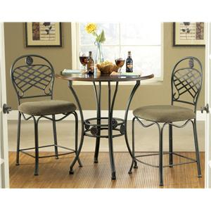Steve Silver Wimberly Three Piece Dining Set