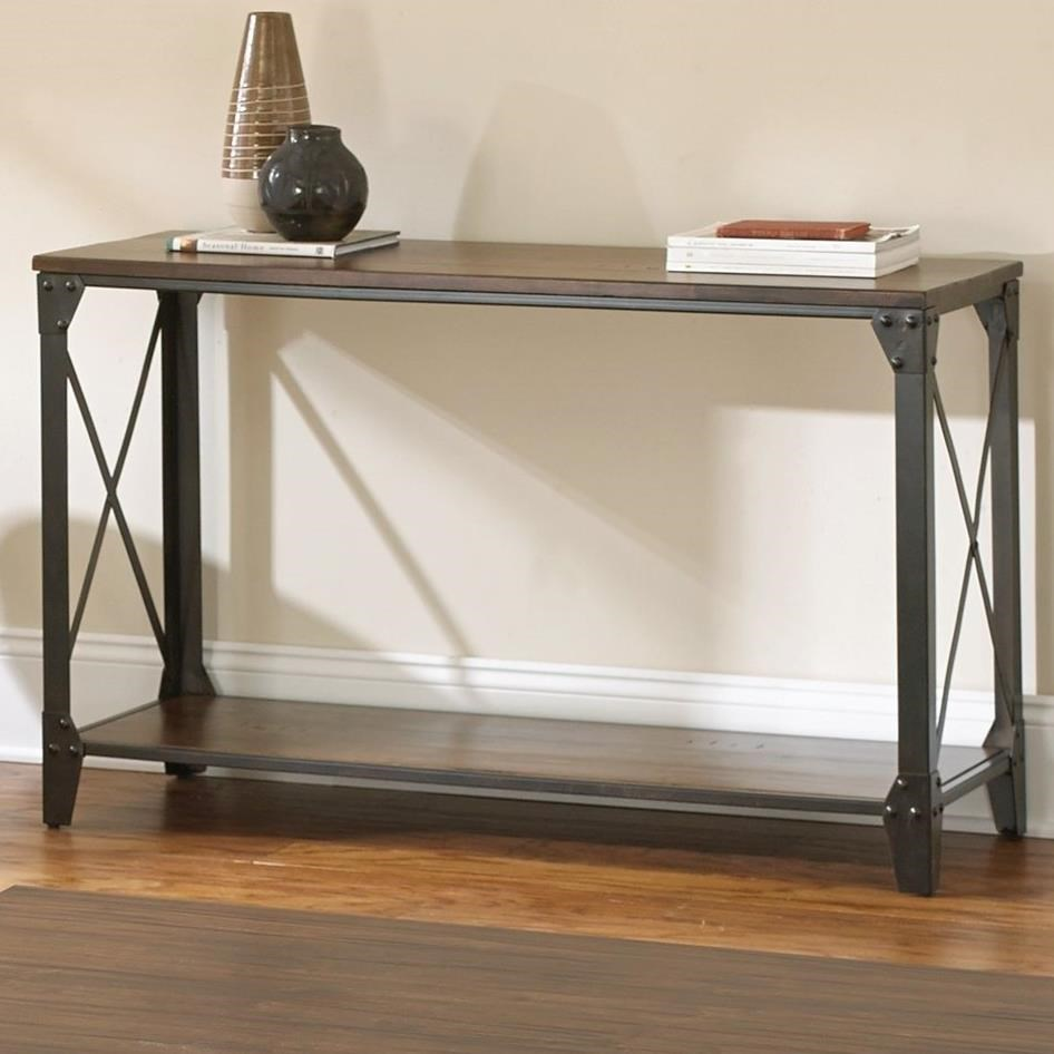Winston  Sofa Table by Steve Silver at Walker's Furniture