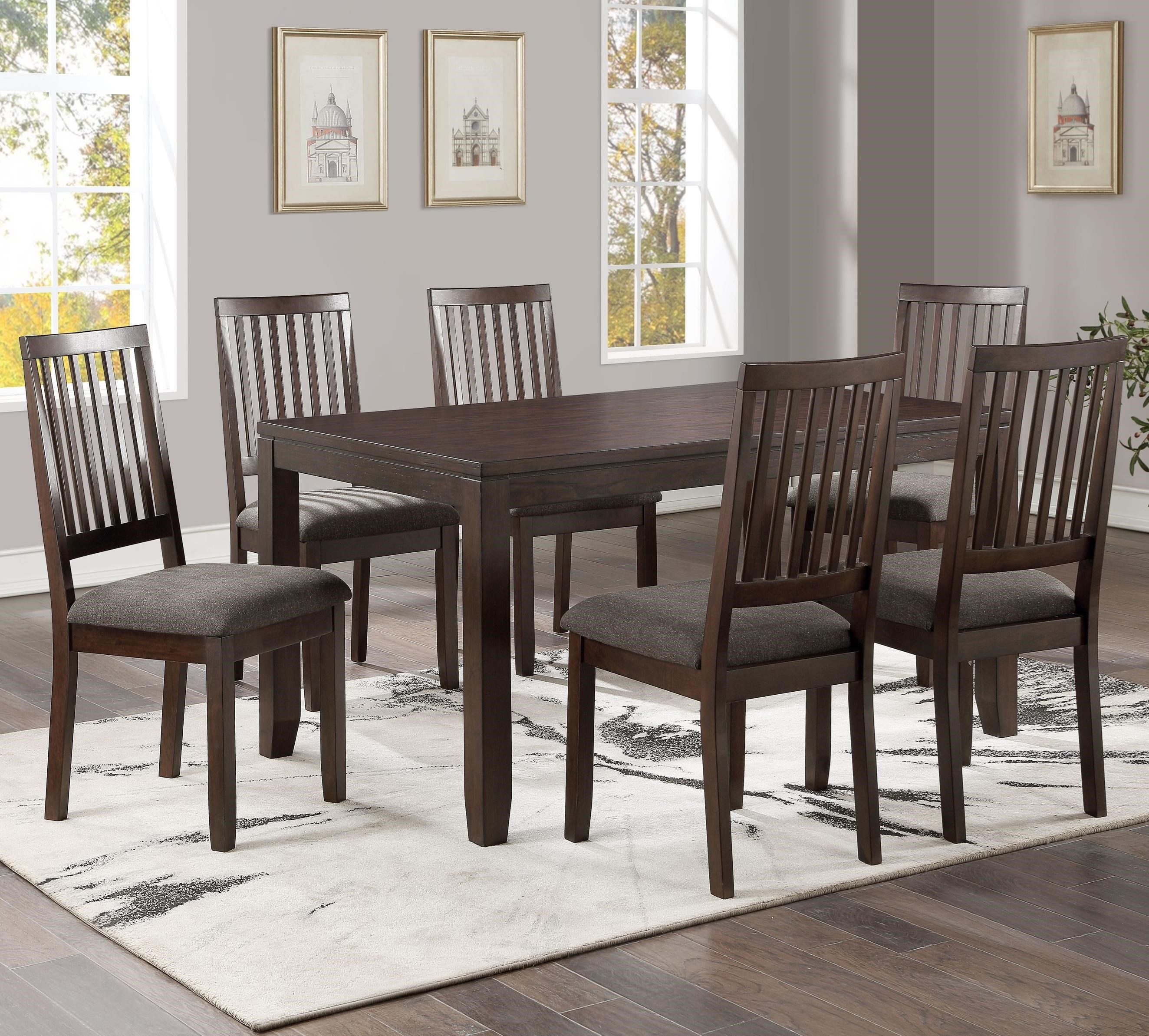 Yorktown 7-Pack Dining Set by Steve Silver at A1 Furniture & Mattress