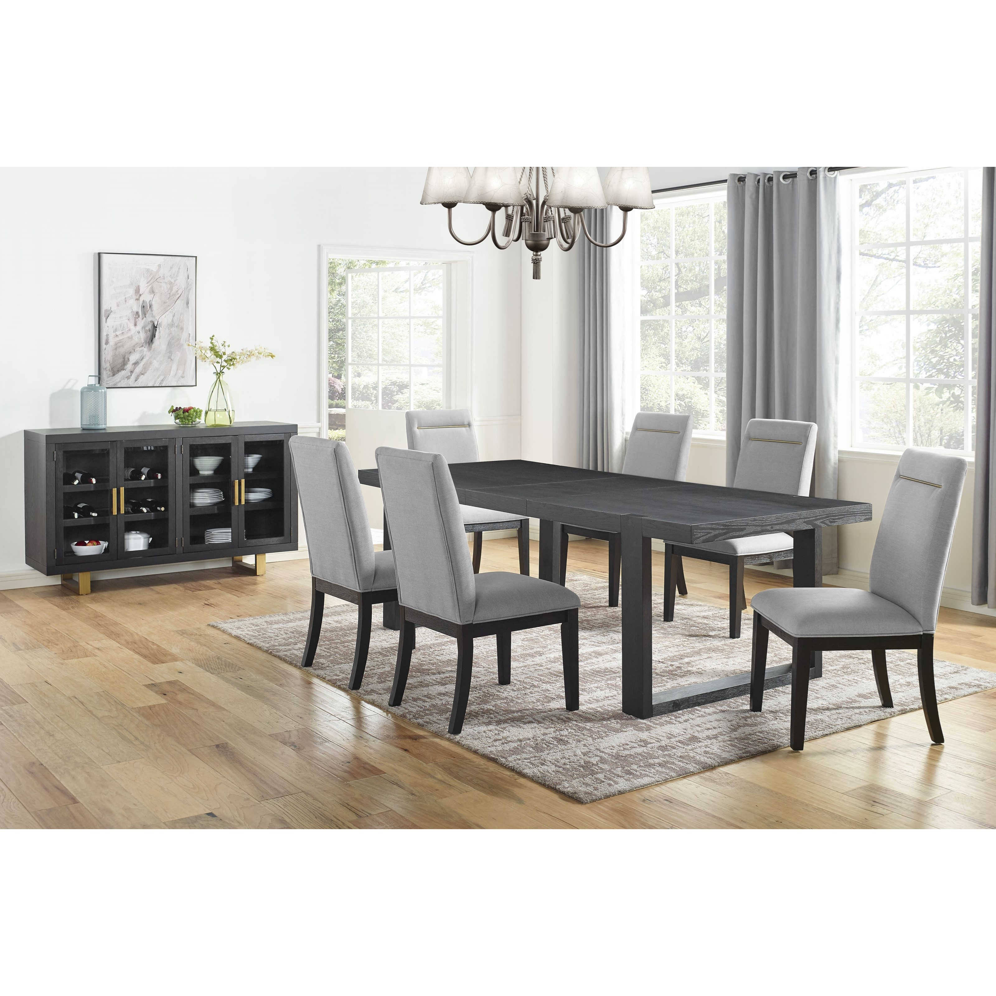 Yves Dining Room Group by Steve Silver at Northeast Factory Direct