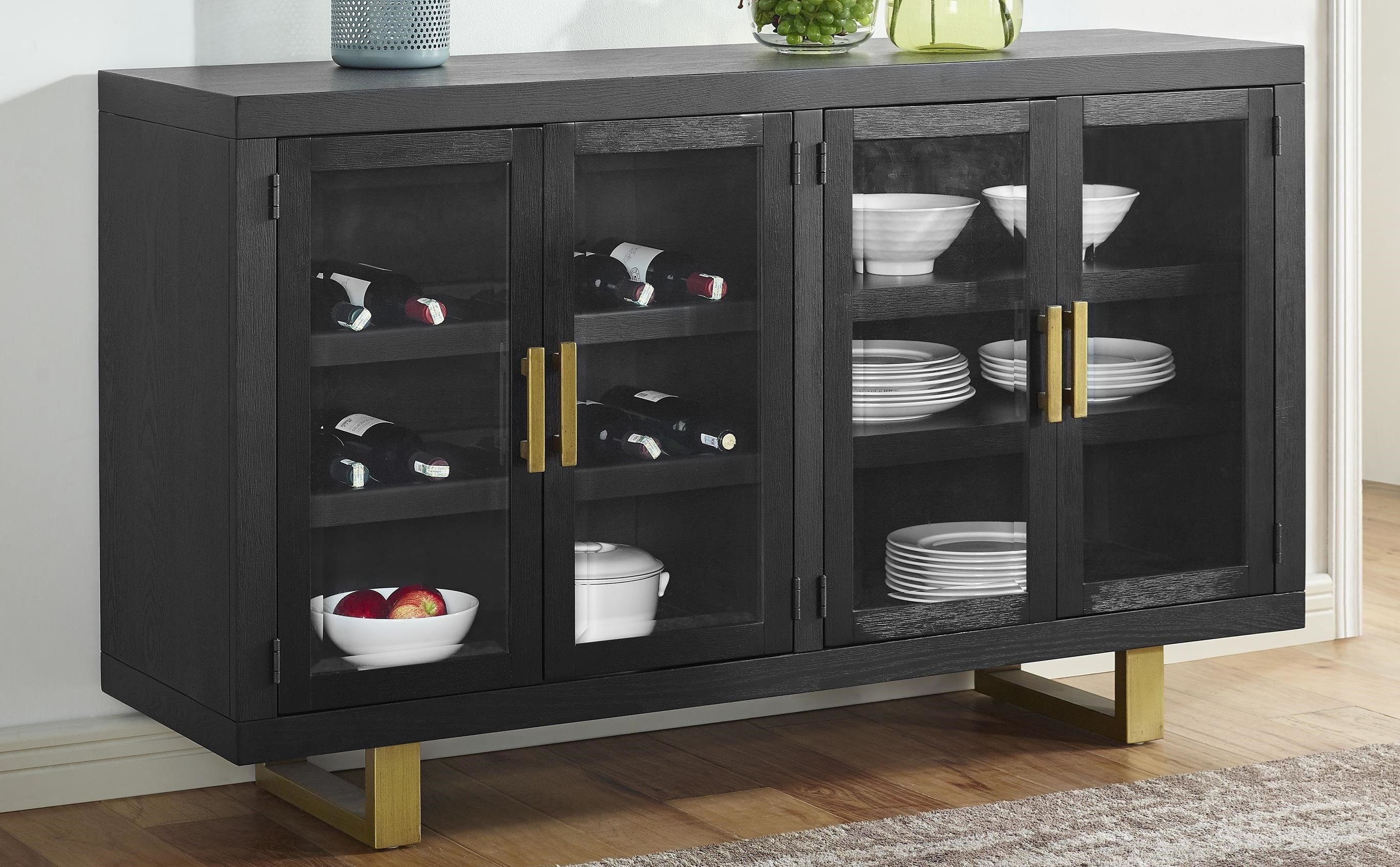 Yves Dining Room Server by Steve Silver at Darvin Furniture