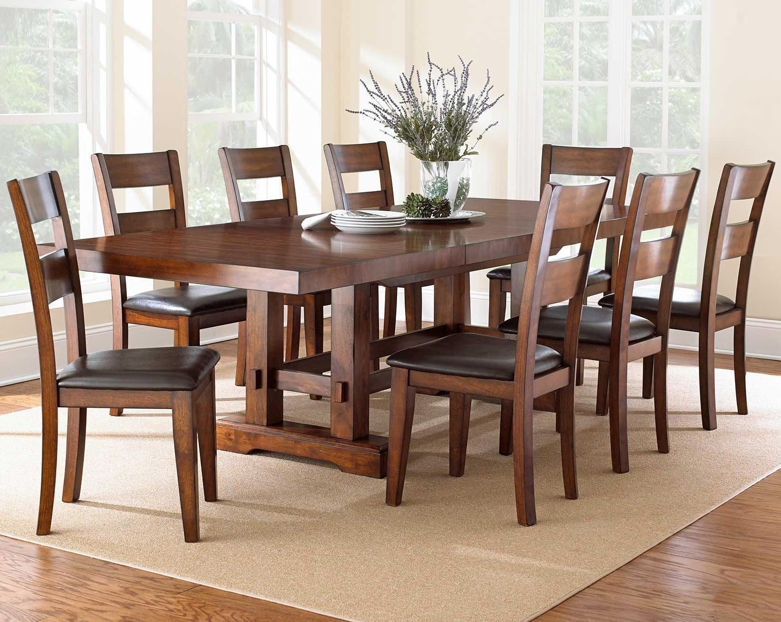 Zappa 9 Piece Dining Set by Steve Silver at Northeast Factory Direct
