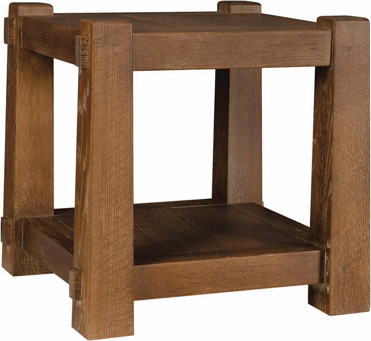 Grand Lodge Oakmont Oakmont End Table by Stickley at Jacksonville Furniture Mart