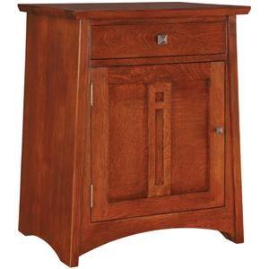 Highlands Door Nightstand