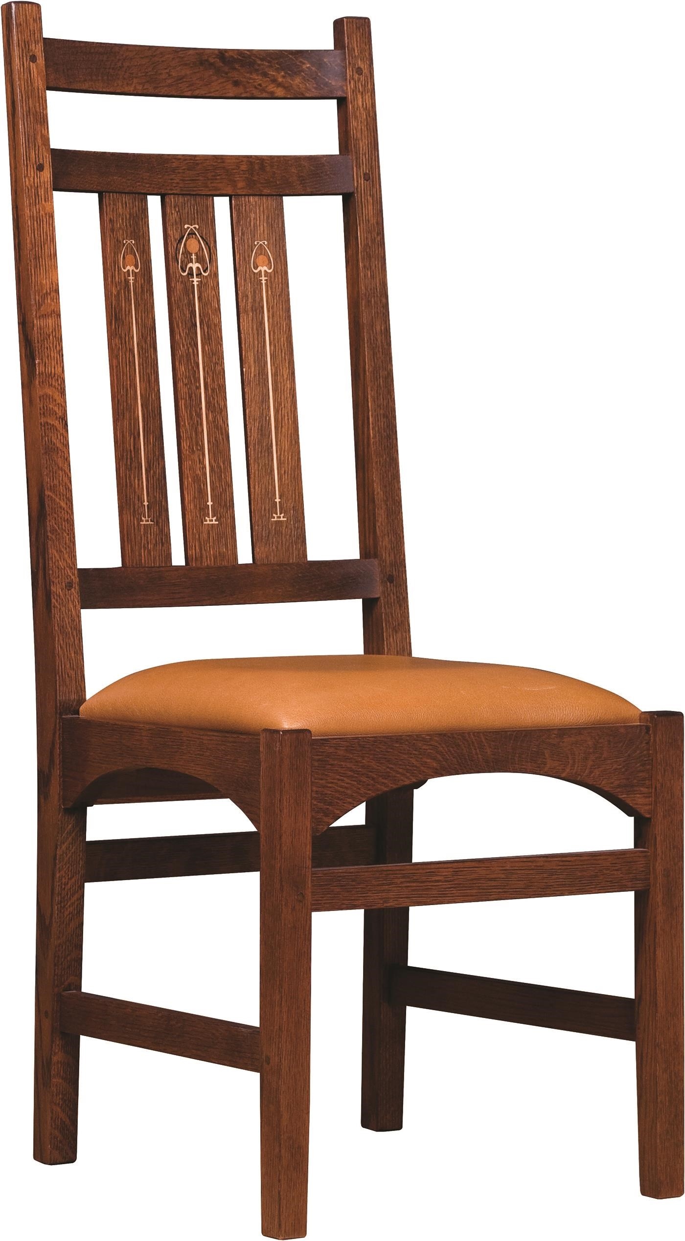 Oak Mission Classics Side Chair by Stickley at Williams & Kay