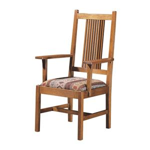 Spindle Arm Chair