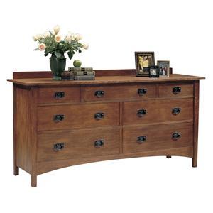 Harvey Ellis Seven Drawer Dresser
