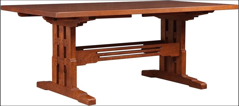 Pasadena Bungalow Rectangular Dining Room Table by Stickley at Williams & Kay