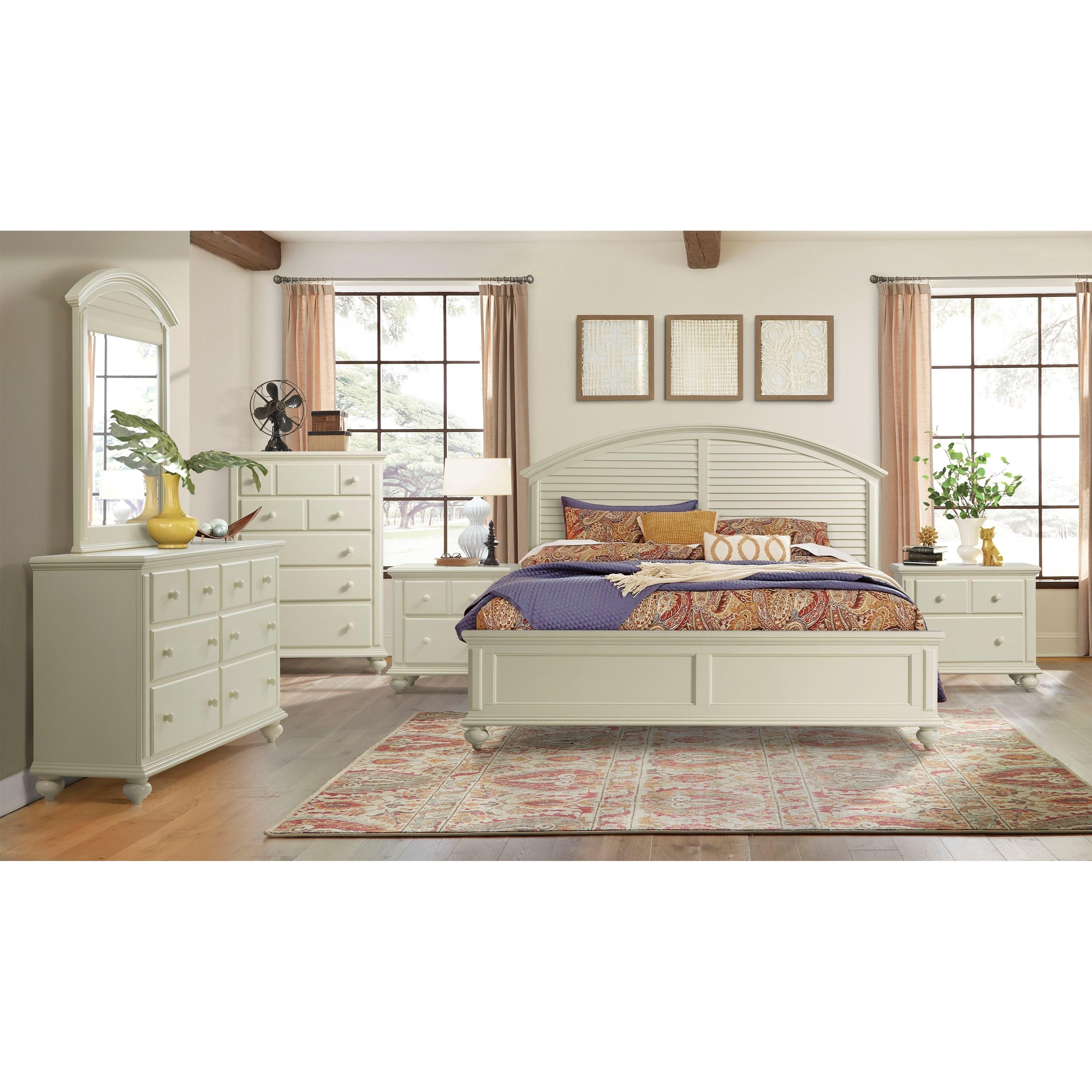 Coastal Cottage Queen Bedroom Group by Stillwater Furniture at Baer's Furniture