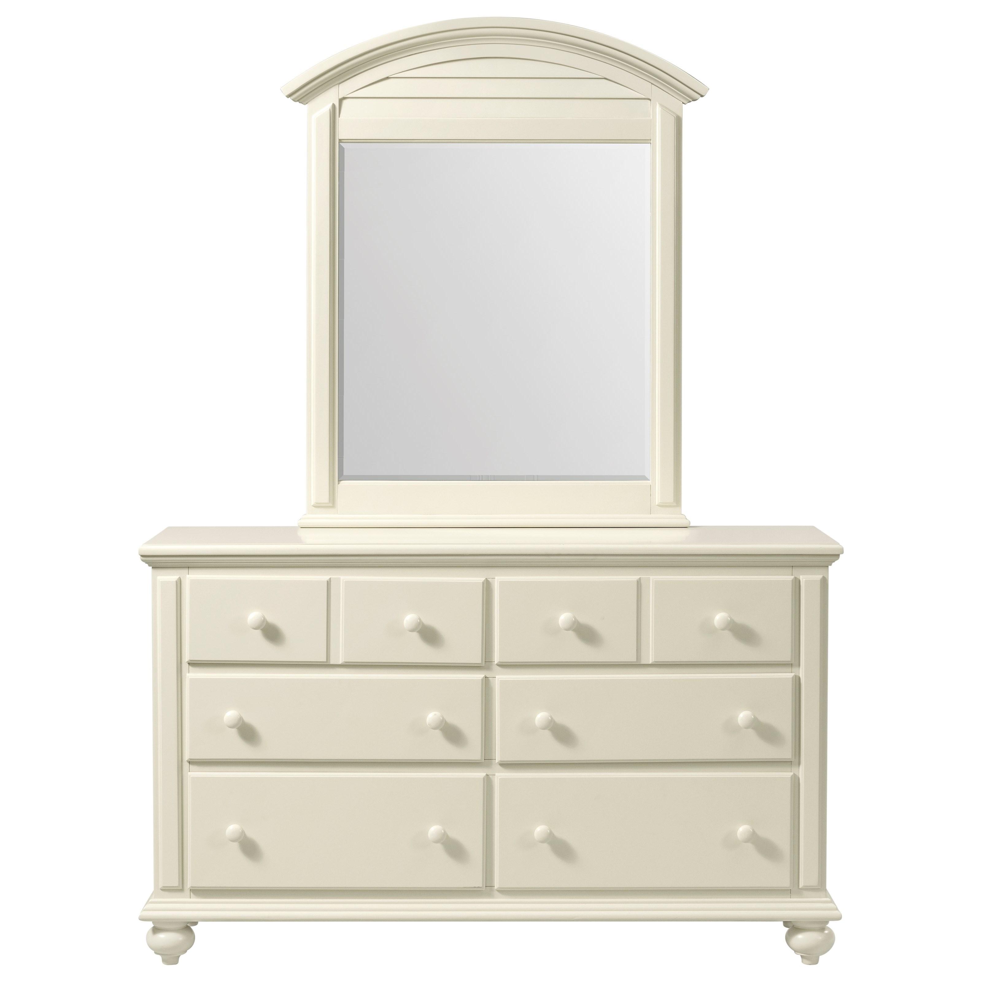 Coastal Cottage Drawer Dresser by Stillwater Furniture at Baer's Furniture