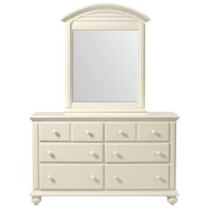 6-Drawer Dresser in Creamy White