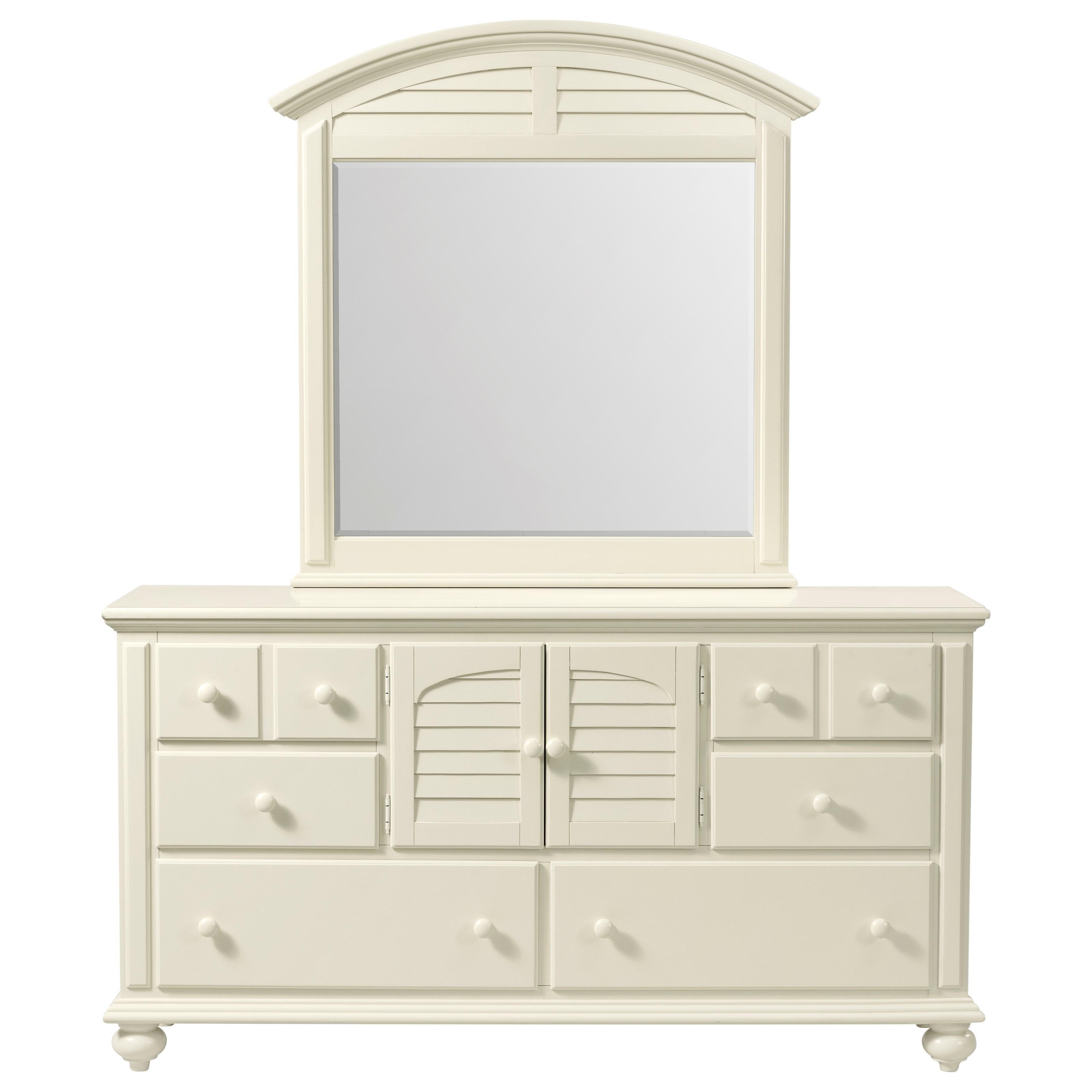 Coastal Cottage Door Dresser by Stillwater Furniture at Baer's Furniture