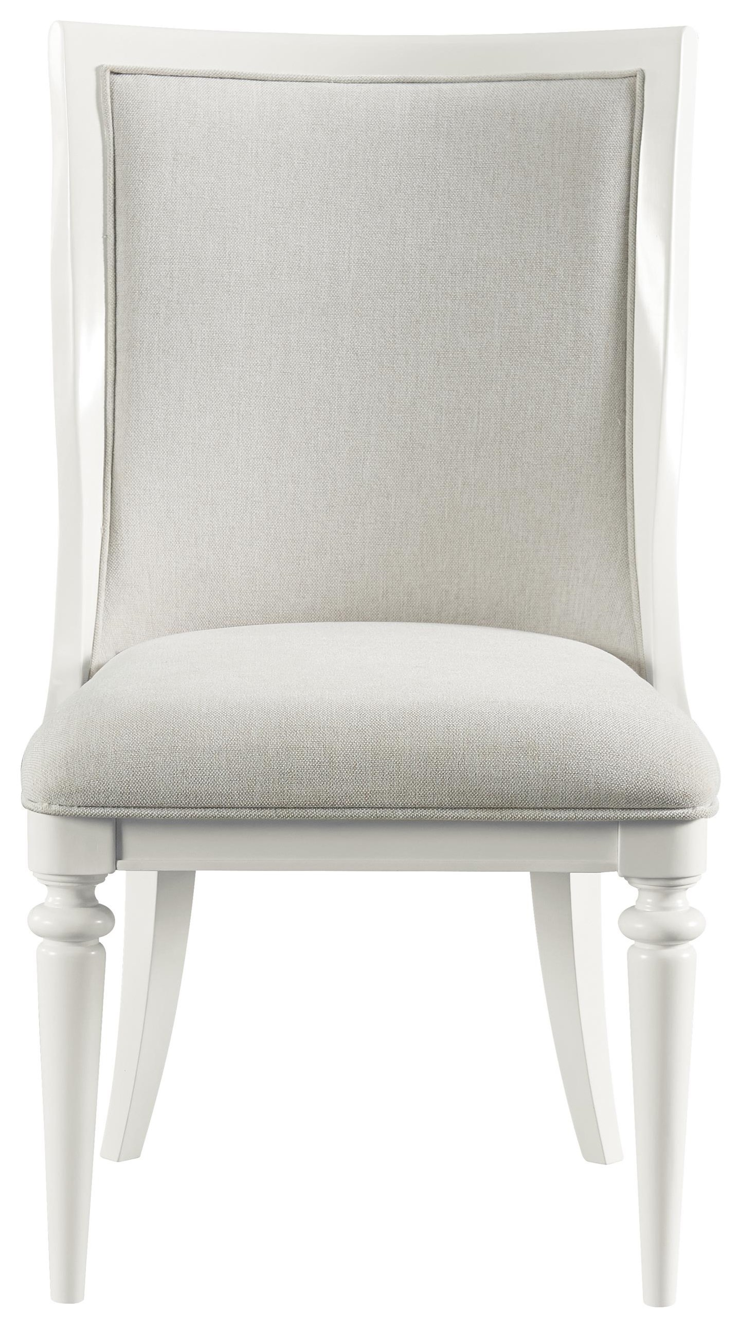 Harbortown Seagrass Dining Chair by Stillwater Furniture at Baer's Furniture
