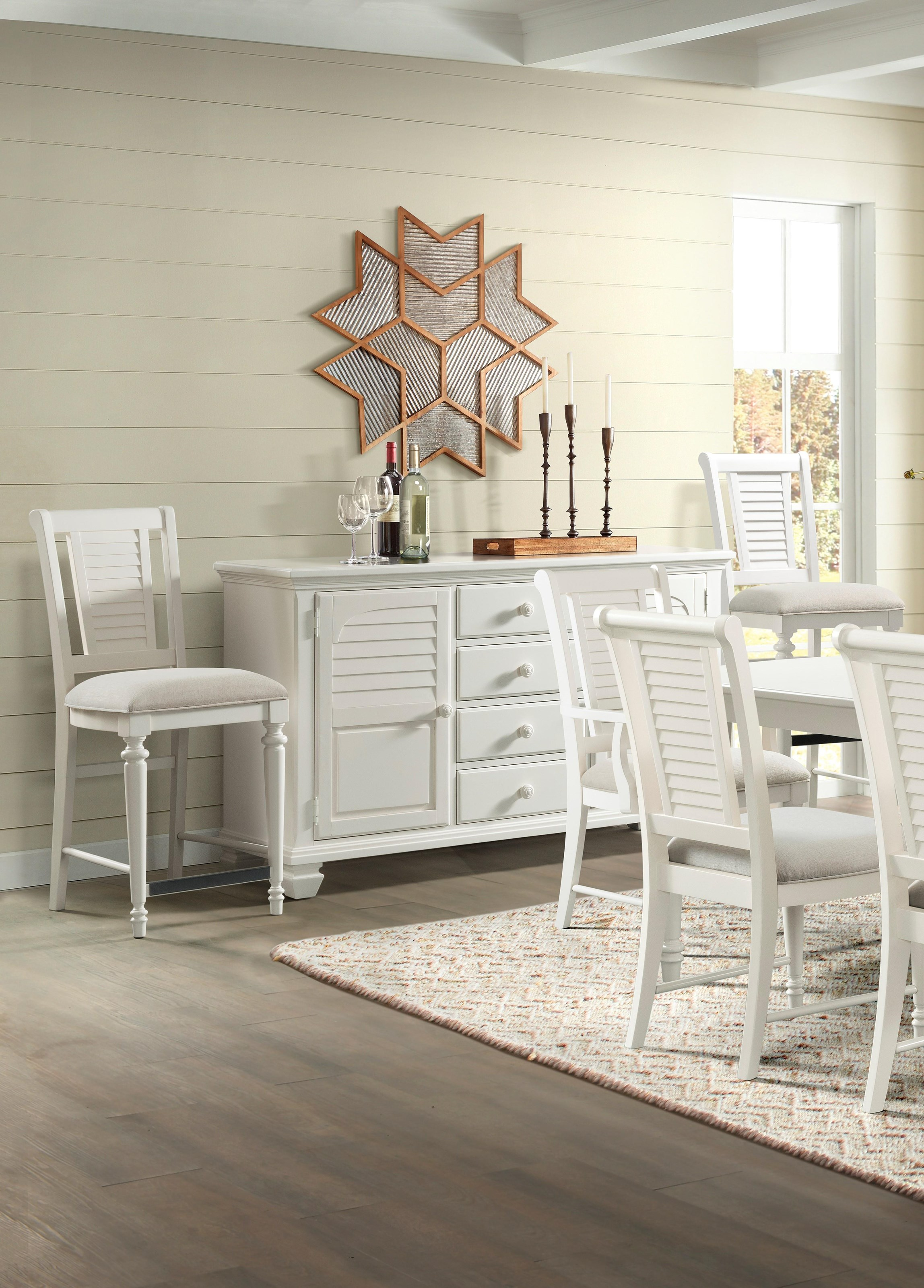 Harbortown Dining Room Server by Stillwater Furniture at Baer's Furniture