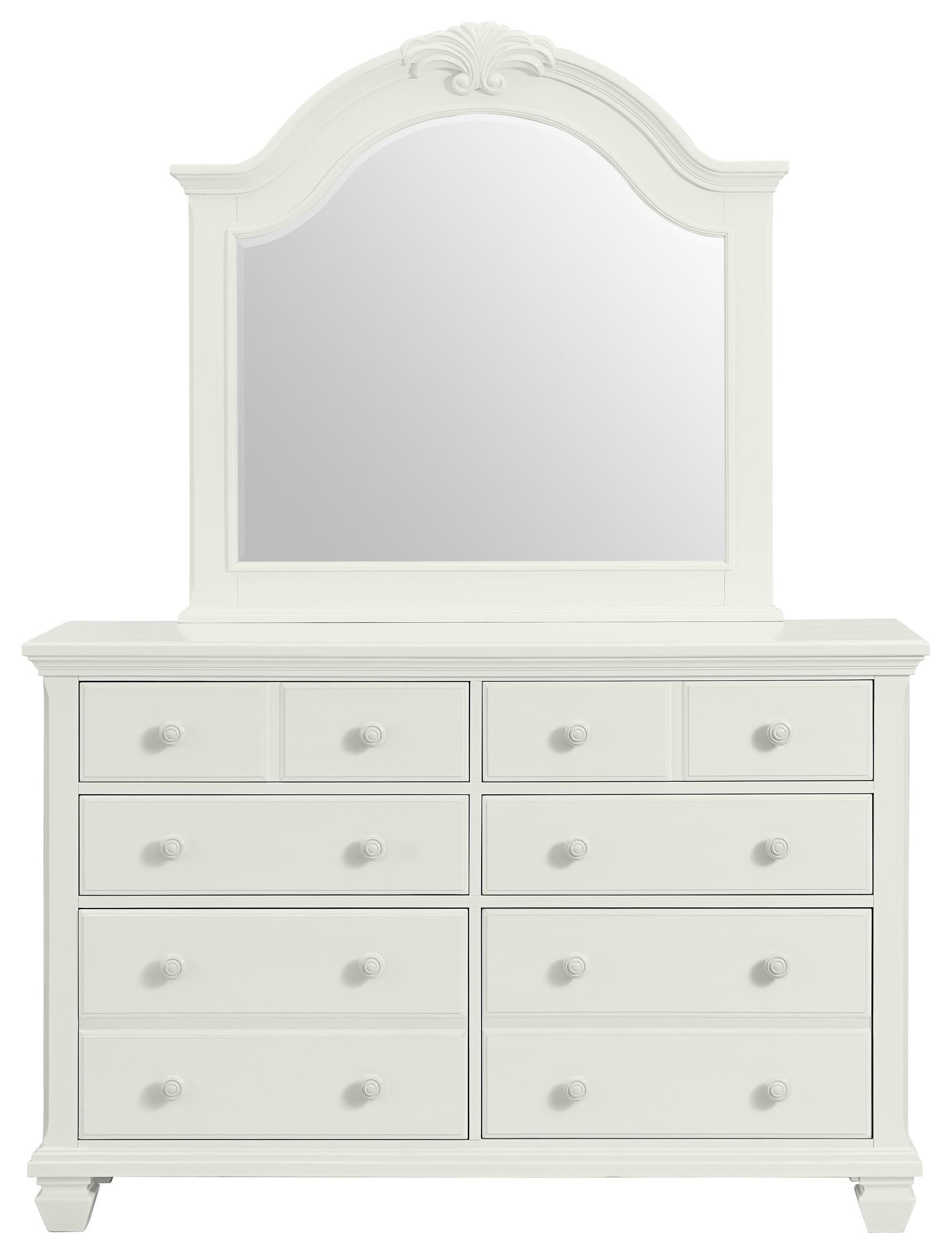 Harbortown Mirror by Stillwater Furniture at Baer's Furniture