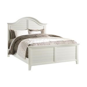 White Queen Panel Bed