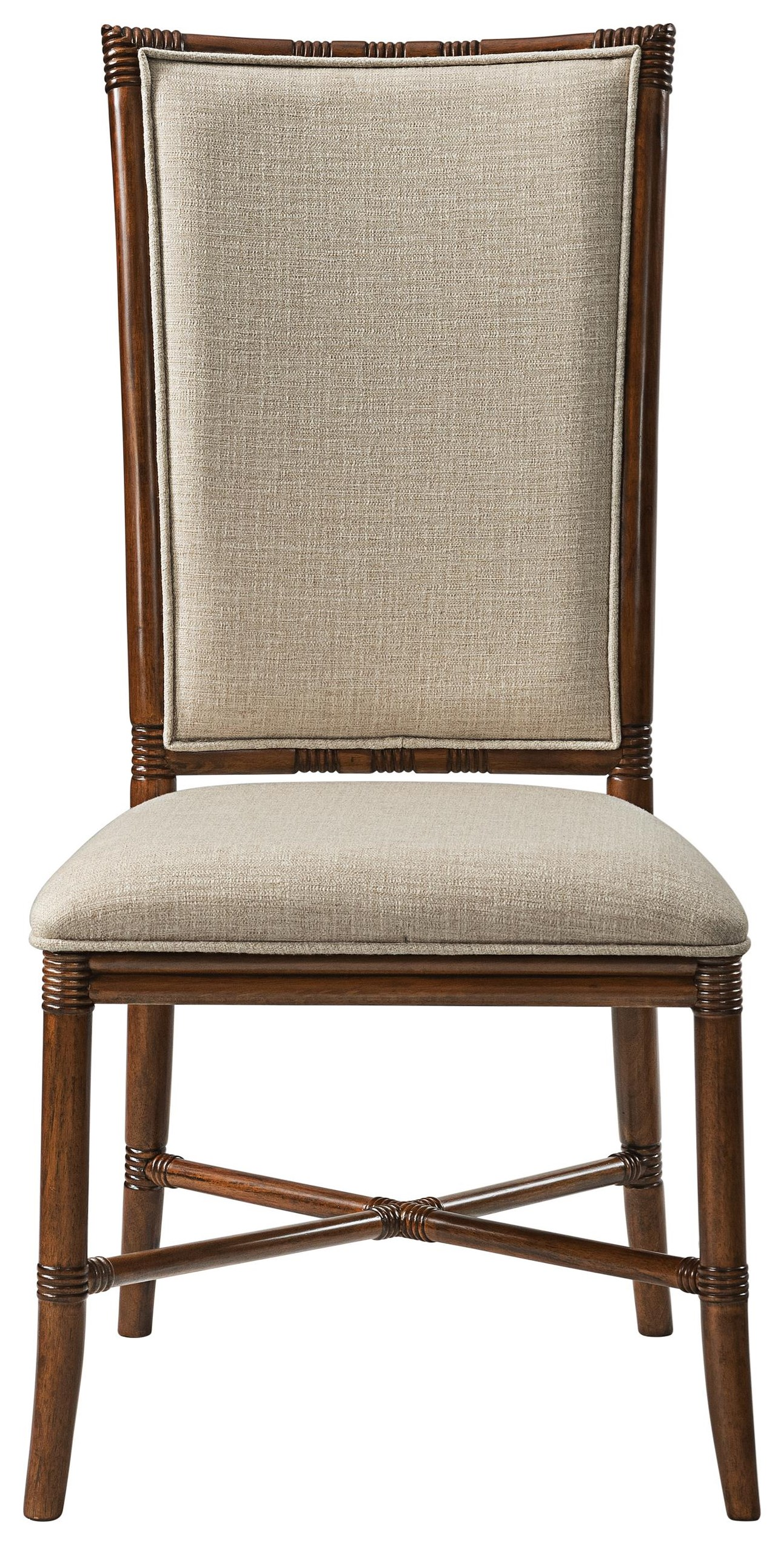 Tropical Breeze Upholstered Side Chair by Stillwater Furniture at Baer's Furniture