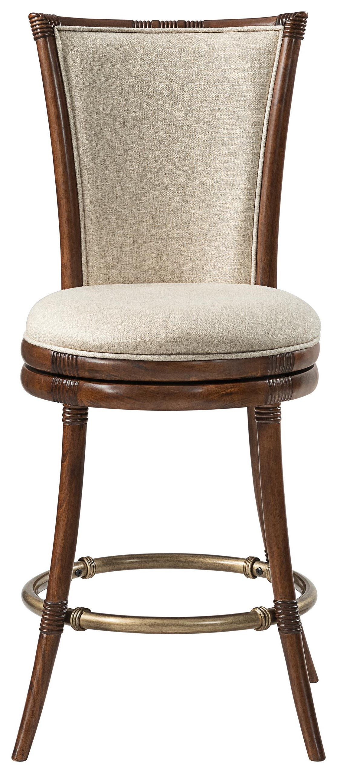 Tropical Breeze Upholstered Counter Stool by Stillwater Furniture at Baer's Furniture