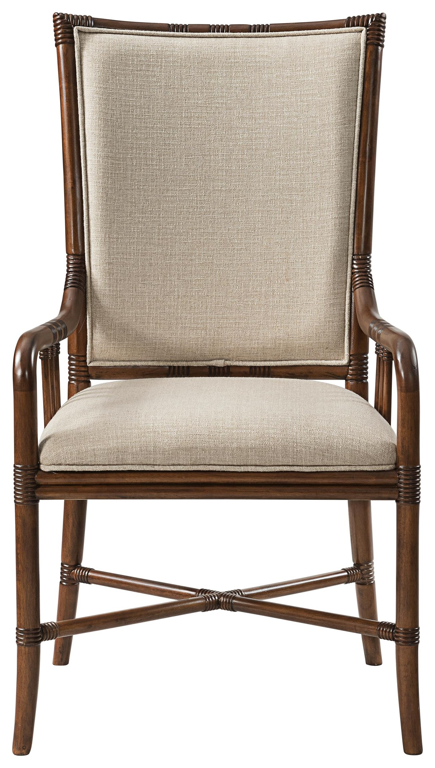 Tropical Breeze Upholstered Arm Chair by Stillwater Furniture at Baer's Furniture