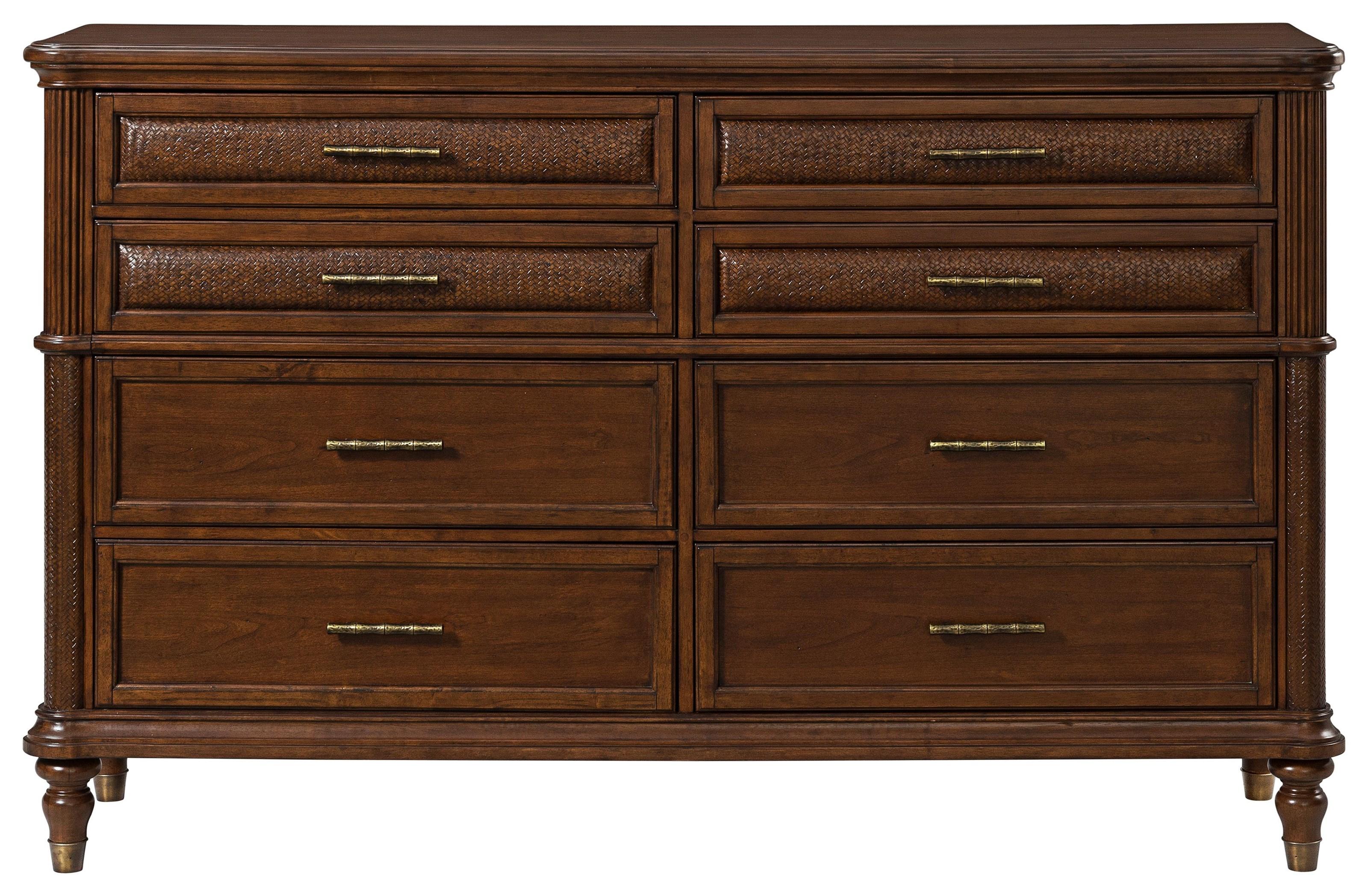 Tropical Breeze Dresser by Stillwater Furniture at Baer's Furniture