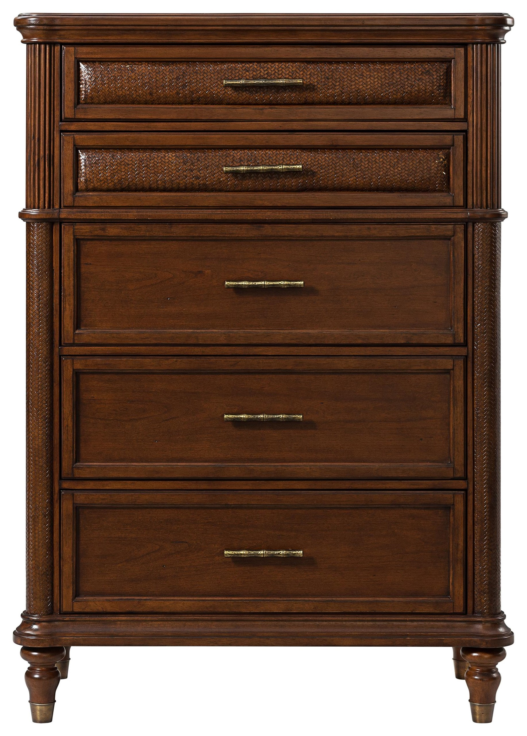 Tropical Breeze Tall Chest by Stillwater Furniture at Baer's Furniture