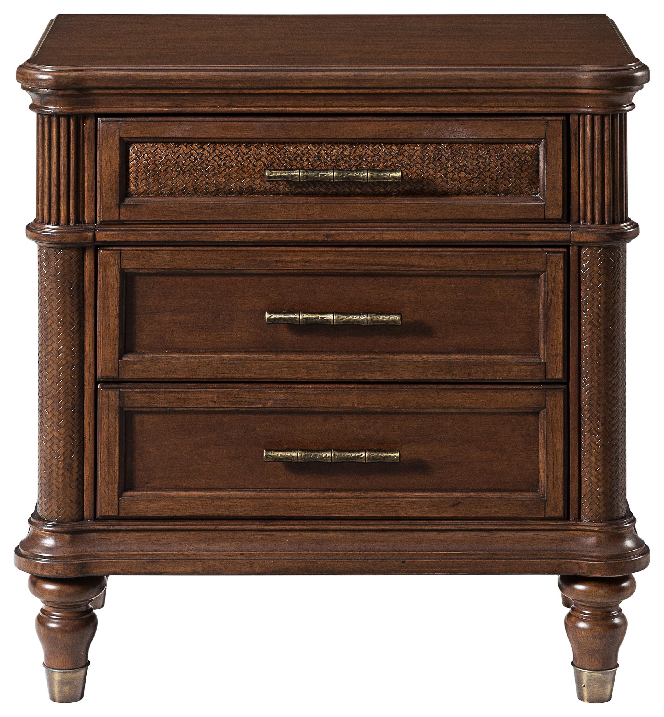 Tropical Breeze Nightstand by Stillwater Furniture at Baer's Furniture