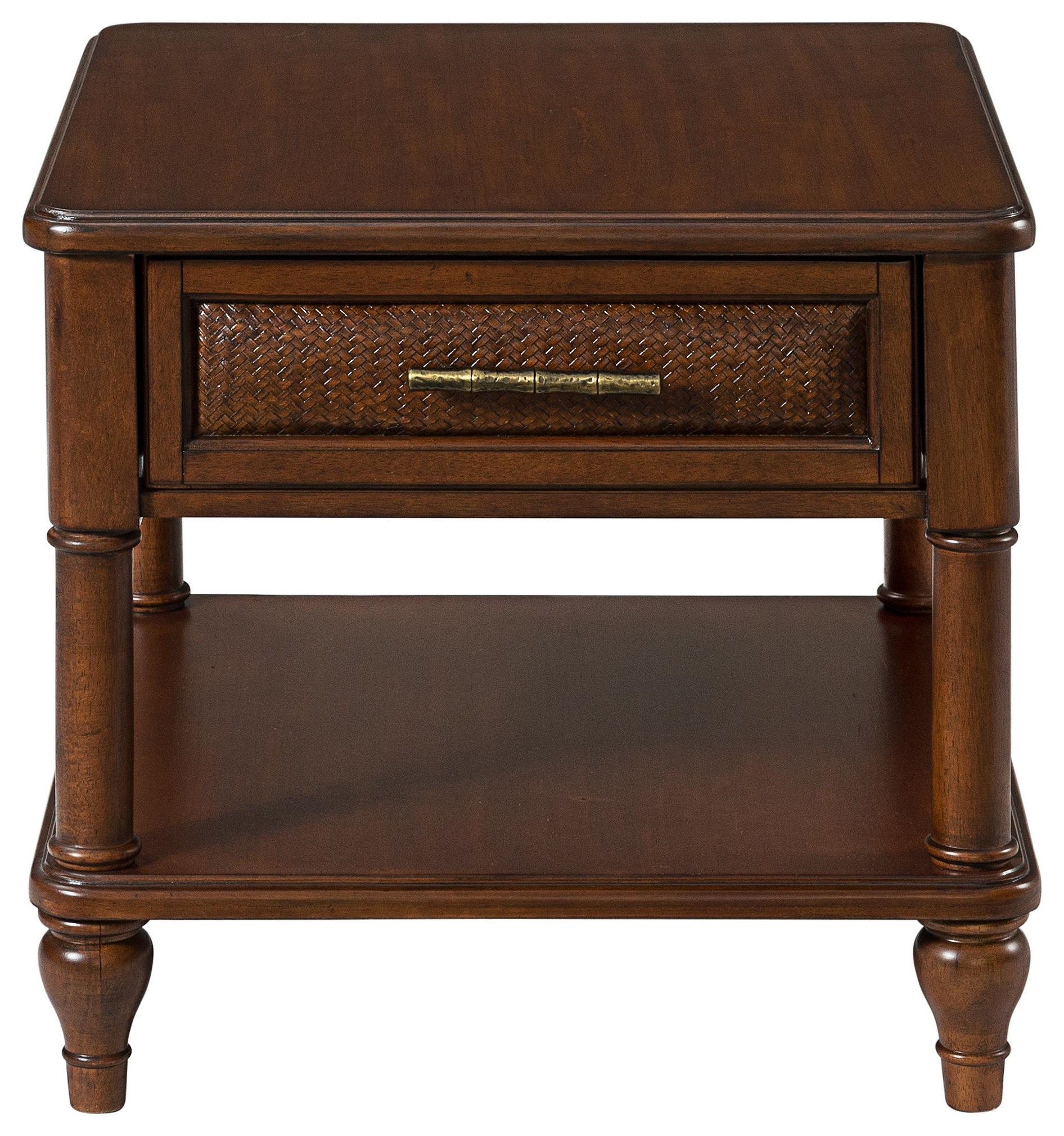 Tropical Breeze End Table by Stillwater Furniture at Baer's Furniture