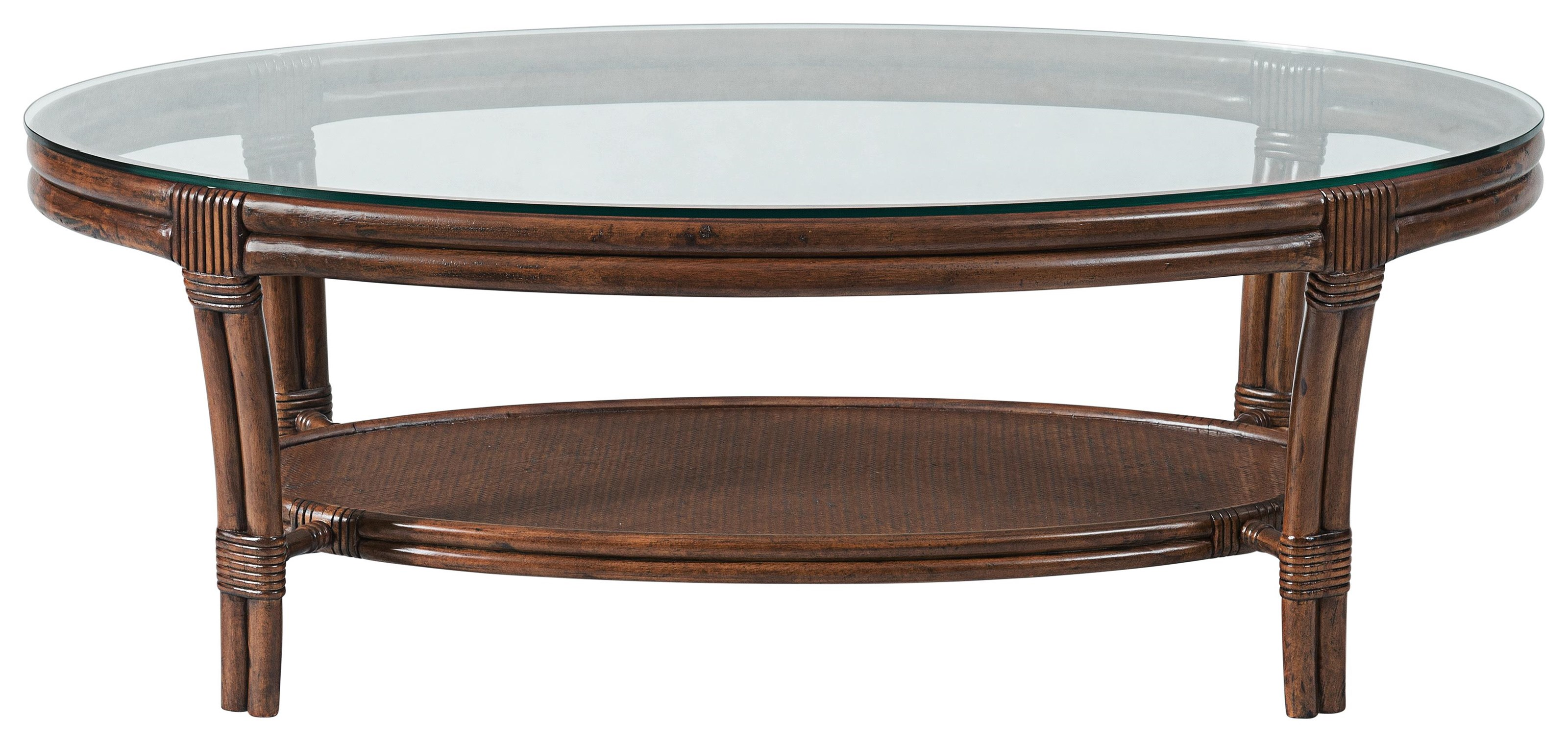 Tropical Breeze Oval Cocktail Table by Stillwater Furniture at Baer's Furniture