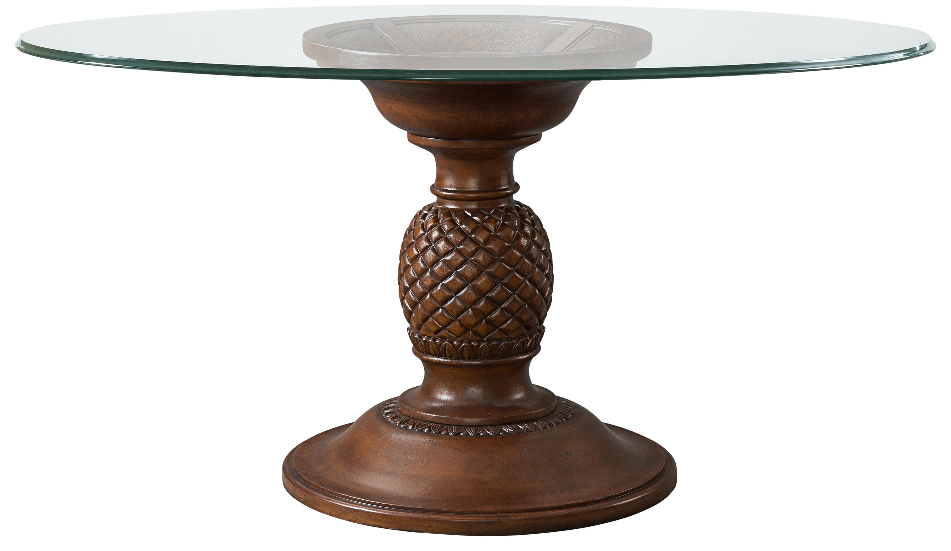 Tropical Breeze Dining Pedestal Table by Stillwater Furniture at Baer's Furniture