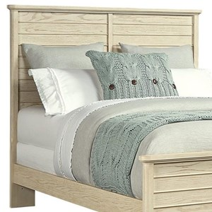 Stone & Leigh Furniture Driftwood Park Queen/Full Panel Headboard