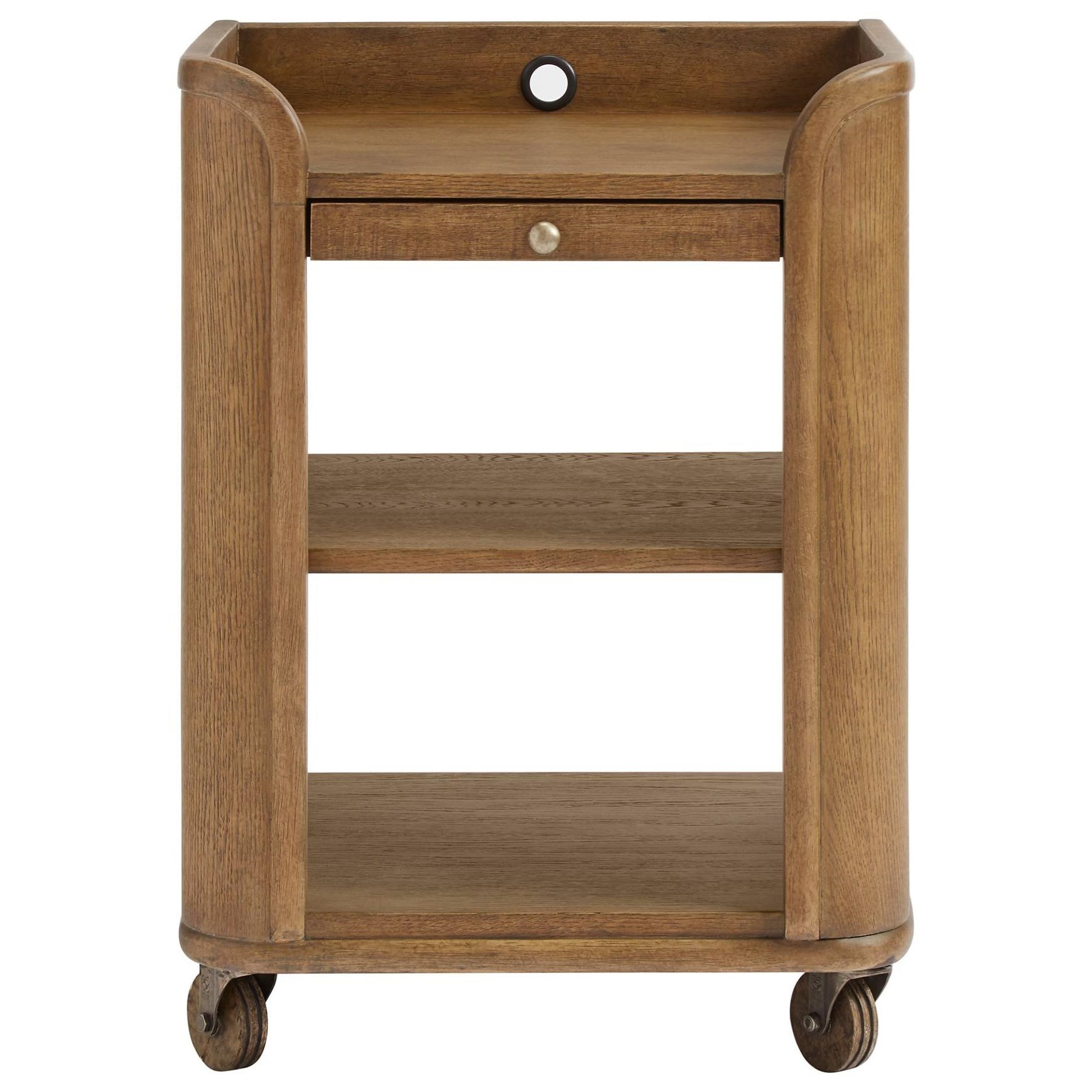 Driftwood Park Bedside Storage Table by Stone & Leigh Furniture at Alison Craig Home Furnishings