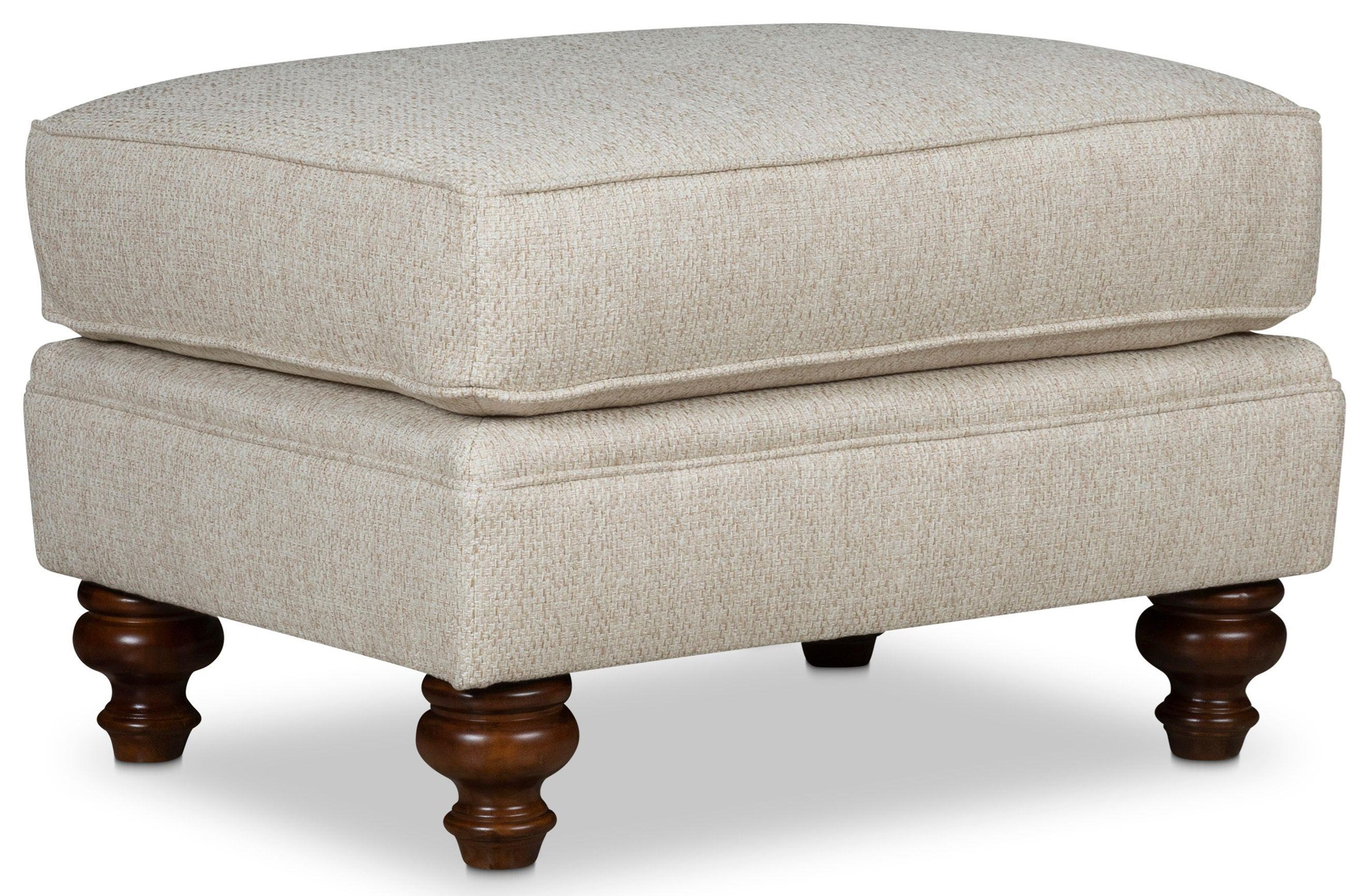 Larissa Ottoman by Stone & Leigh Furniture at Baer's Furniture