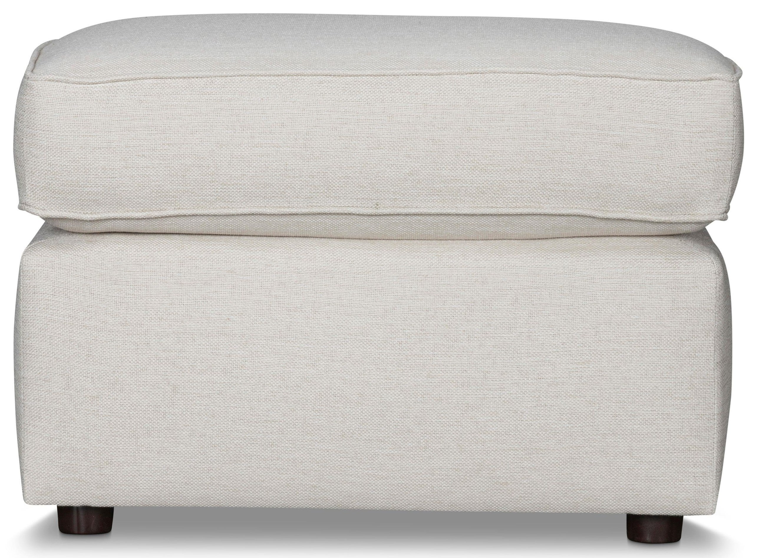 Leigh Upholstered Ottoman by Stone & Leigh Furniture at Baer's Furniture