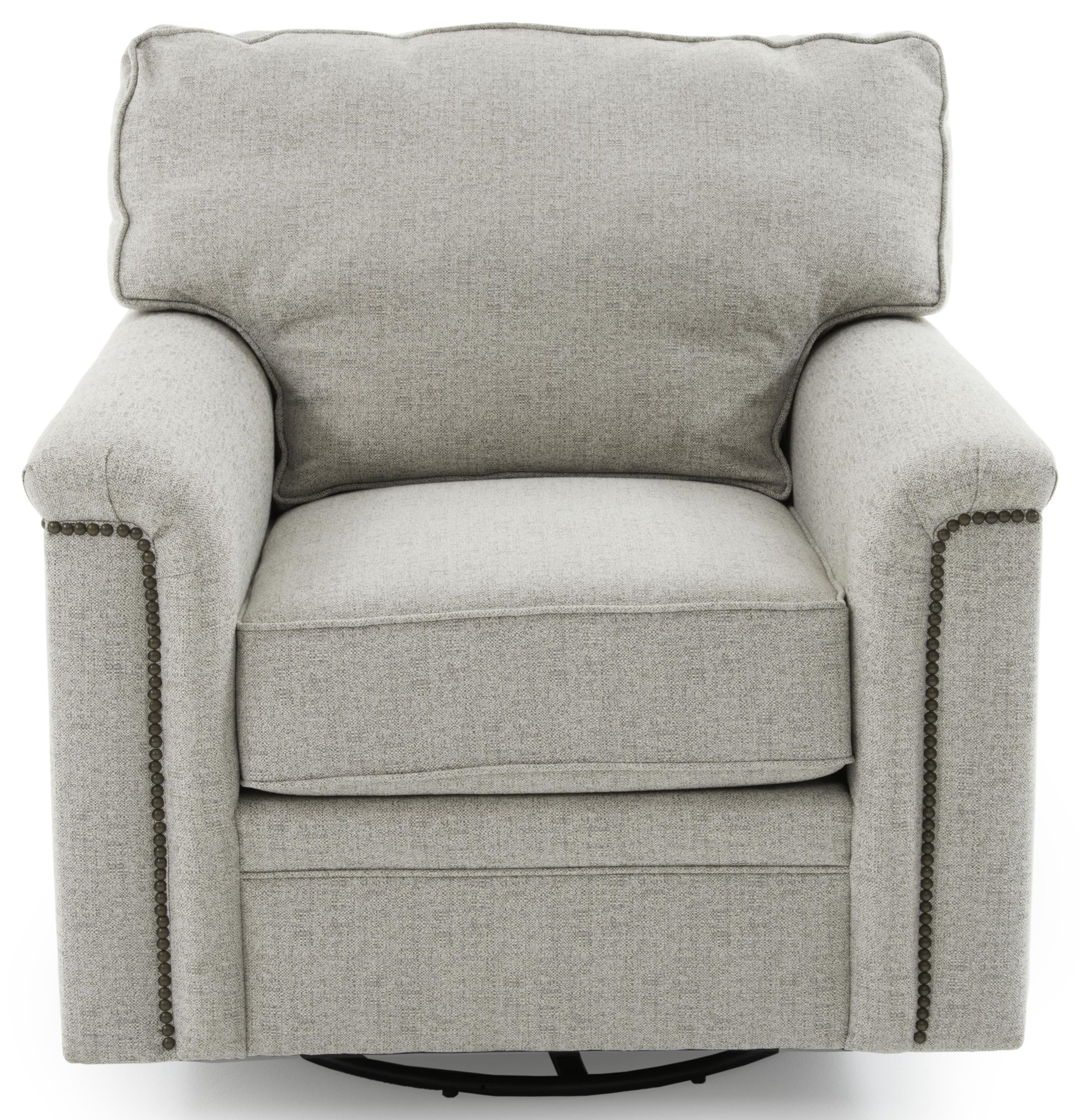 Warren Swivel Chair by Stone & Leigh Furniture at Baer's Furniture