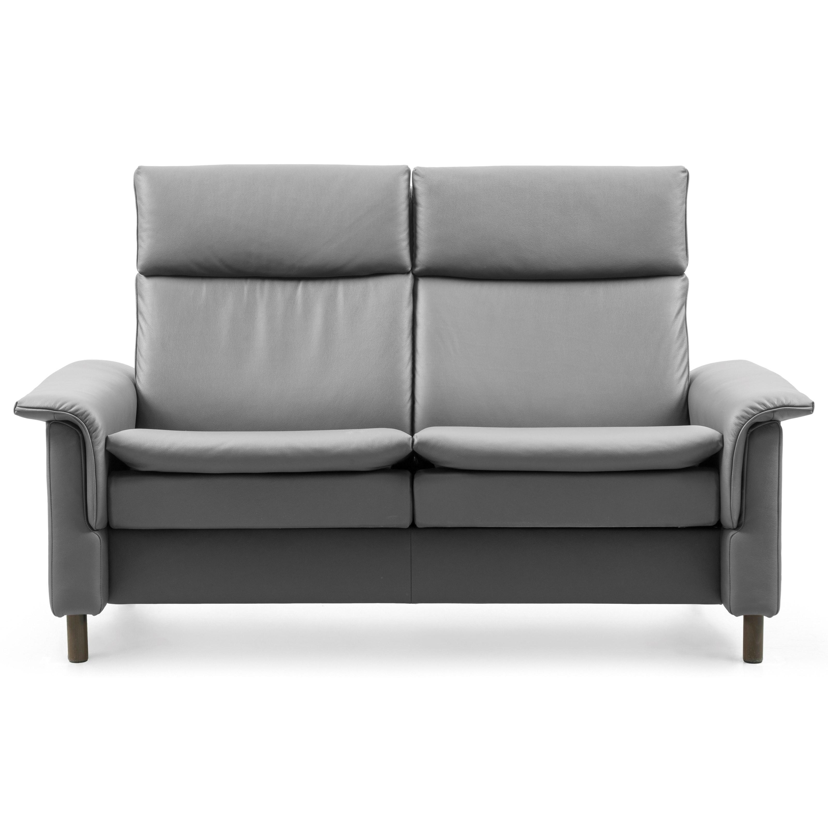 Aurora High-Back Reclining Loveseat by Stressless at Bennett's Furniture and Mattresses