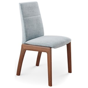Reclining Low-Back Dining Chair with D100 Base